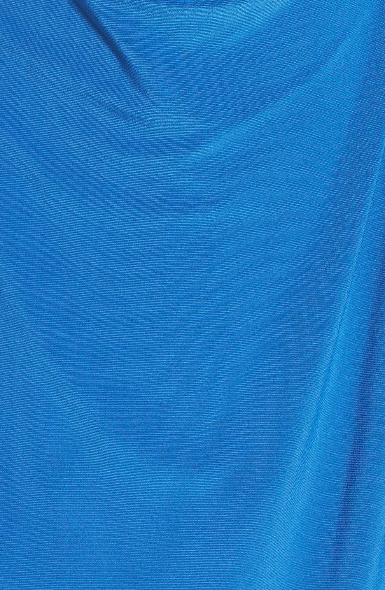 Alternate Image 5  - Anne Klein Stretch Jersey Faux Wrap Dress