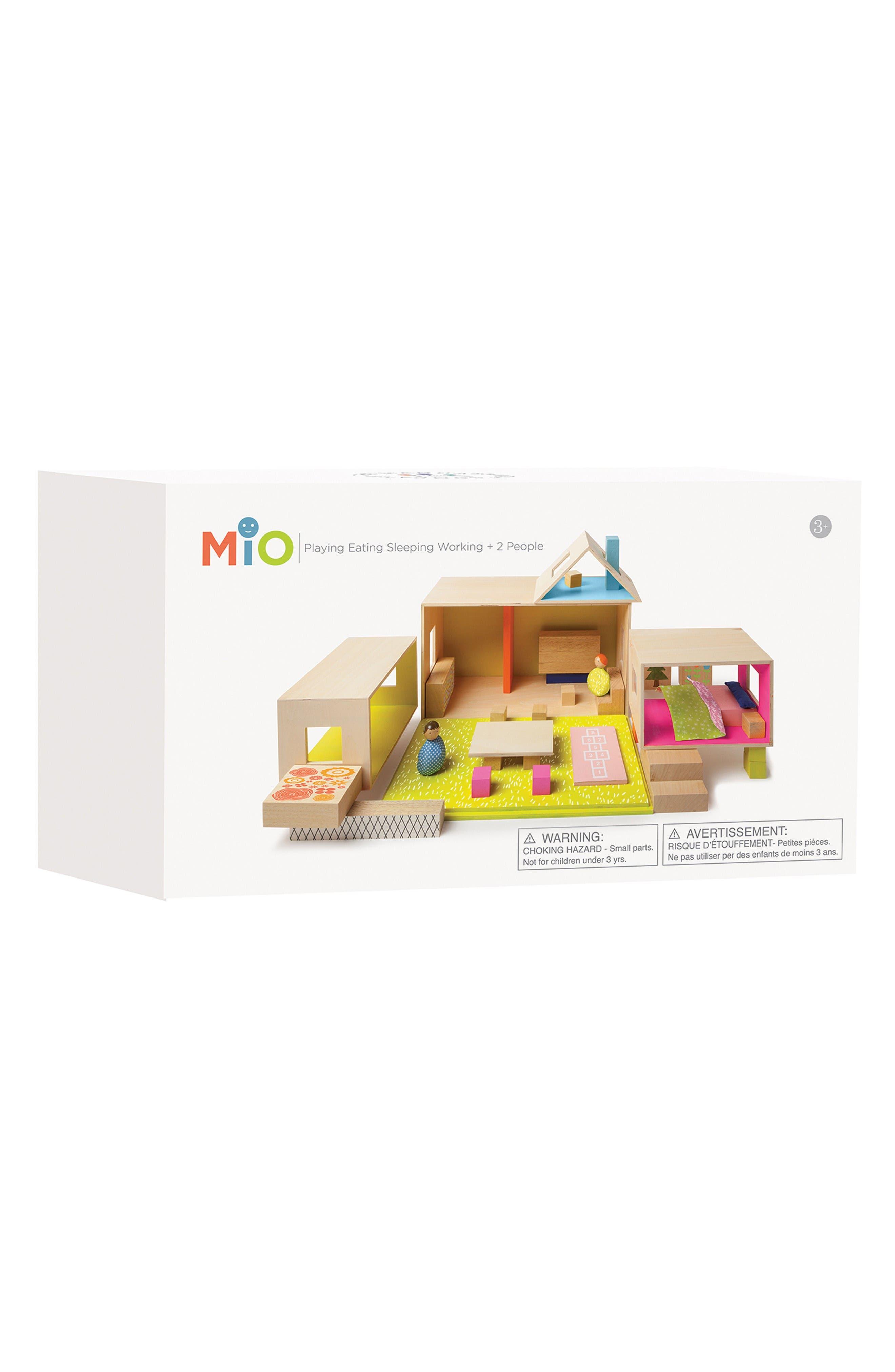 Alternate Image 4  - Manhattan Toy MiO Playing Eating Sleeping Working Blocks