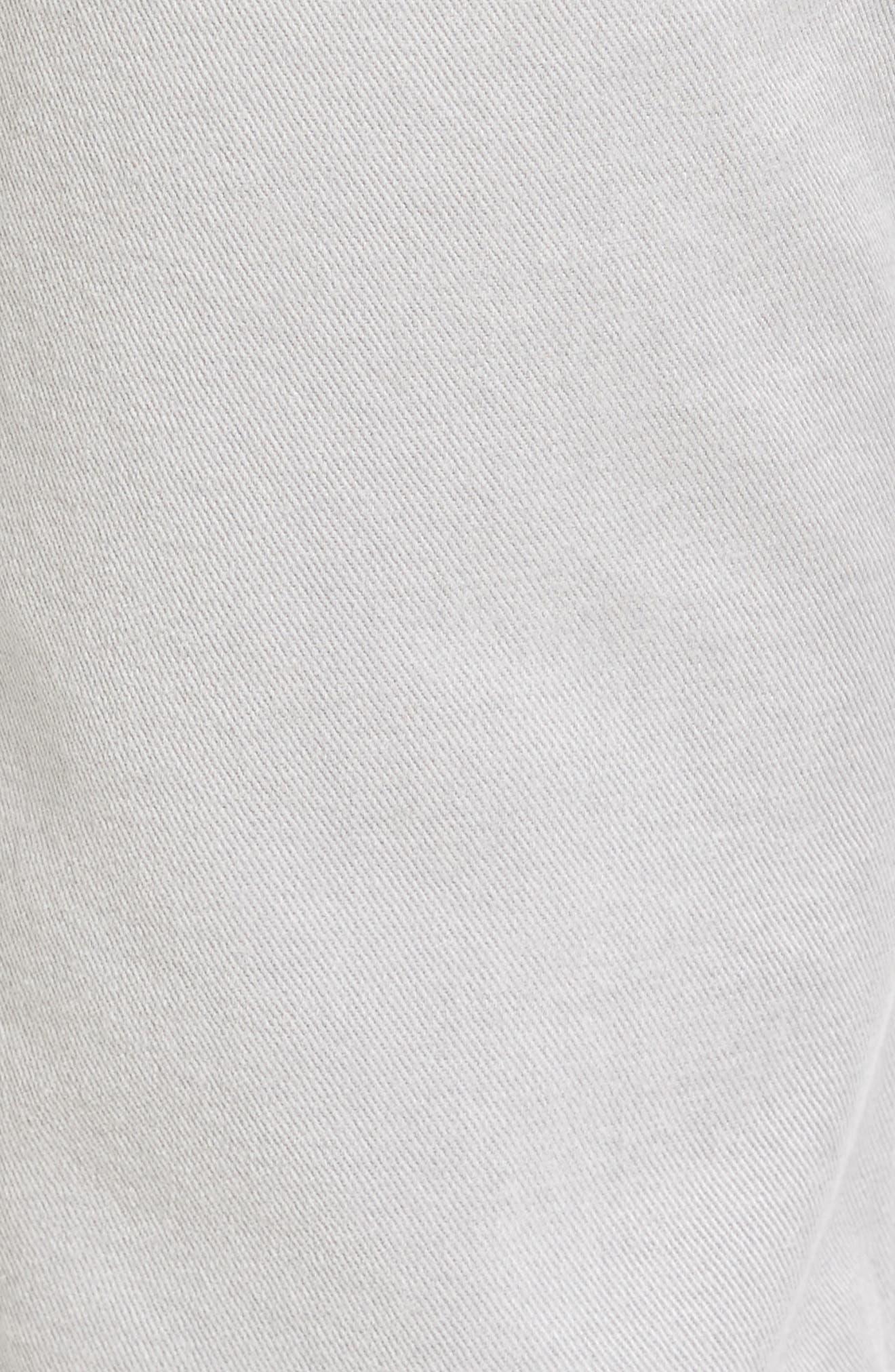 Alternate Image 5  - BOSS Delaware Grey Slim Fit Jeans