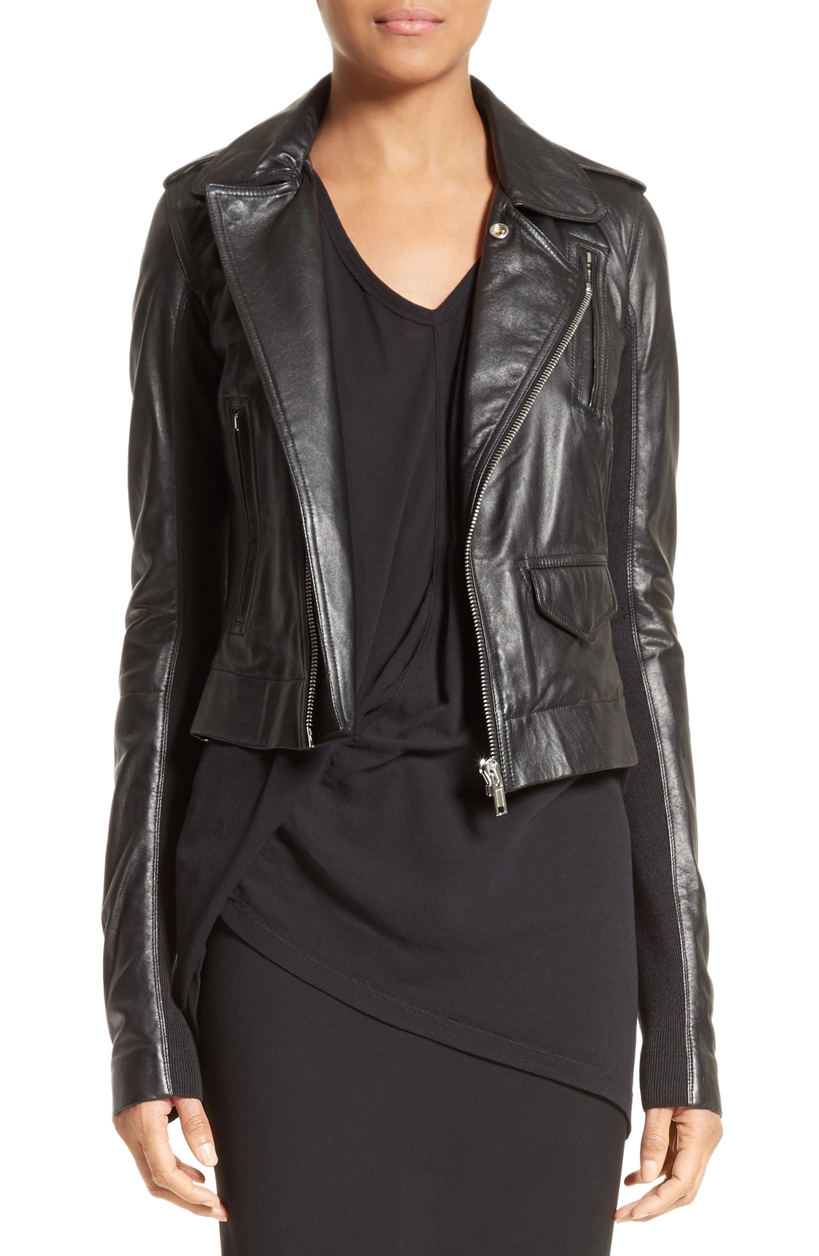 Rick Owens Stooges Leather Jacket