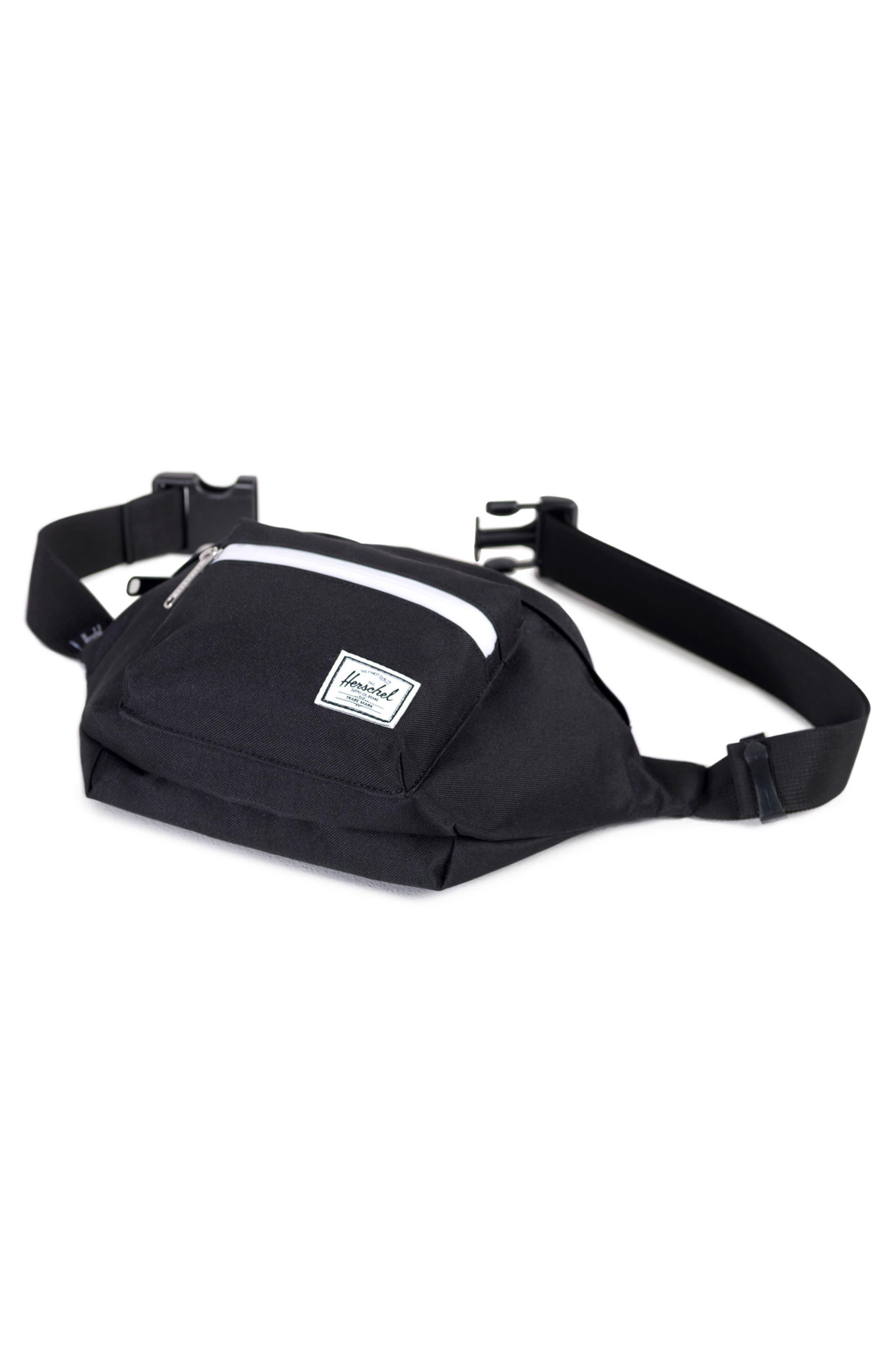 'Seventeen' Belt Bag,                             Alternate thumbnail 2, color,                             Black