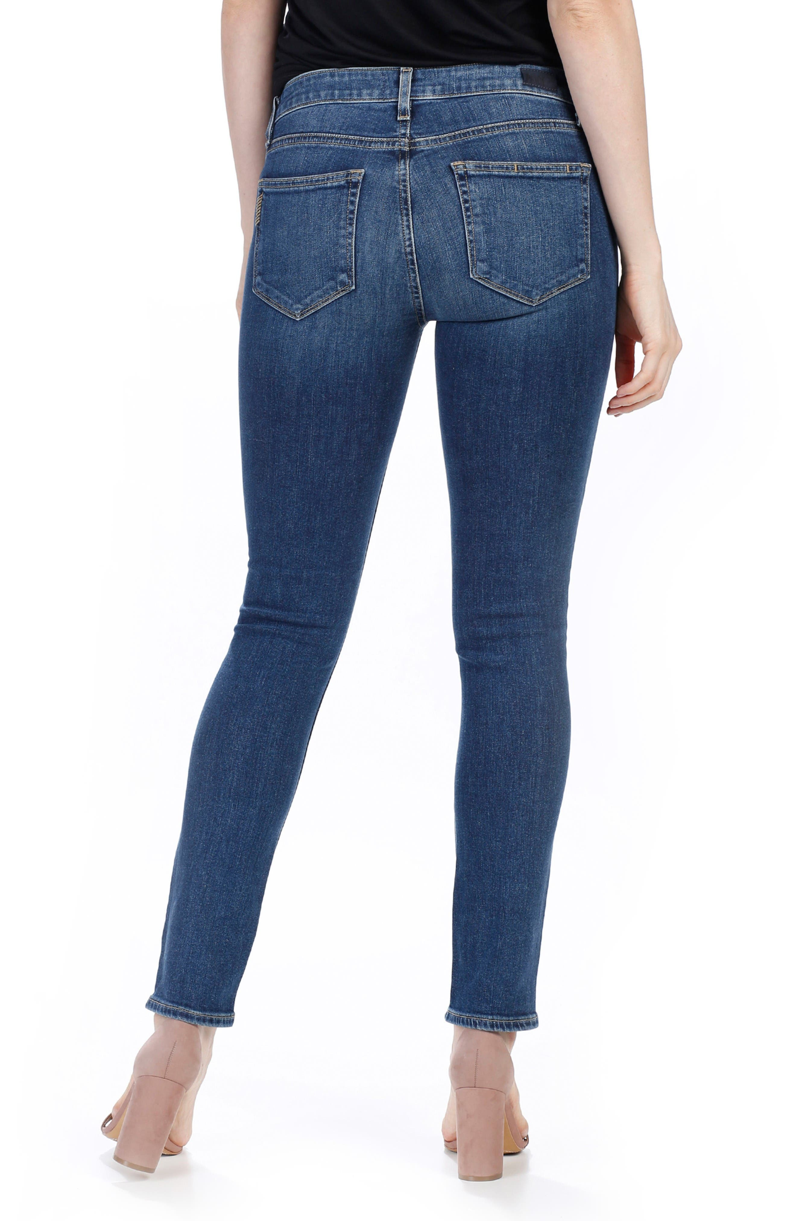 Alternate Image 2  - PAIGE Legacy - Skyline Ankle Peg Skinny Jeans (Lane)