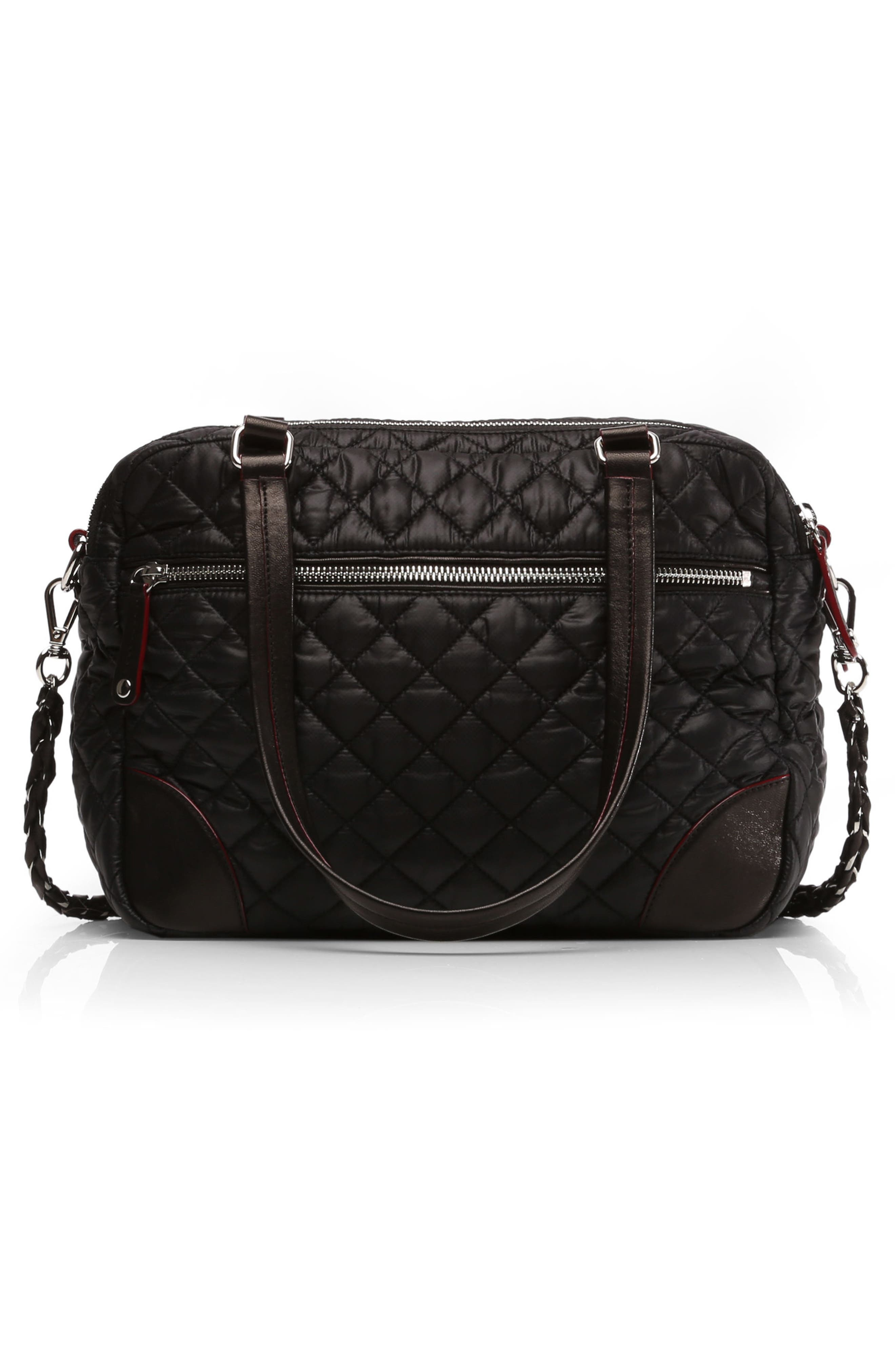 Alternate Image 2  - MZ Wallace Medium Crosby Quilted Oxford Nylon Crossbody Bag