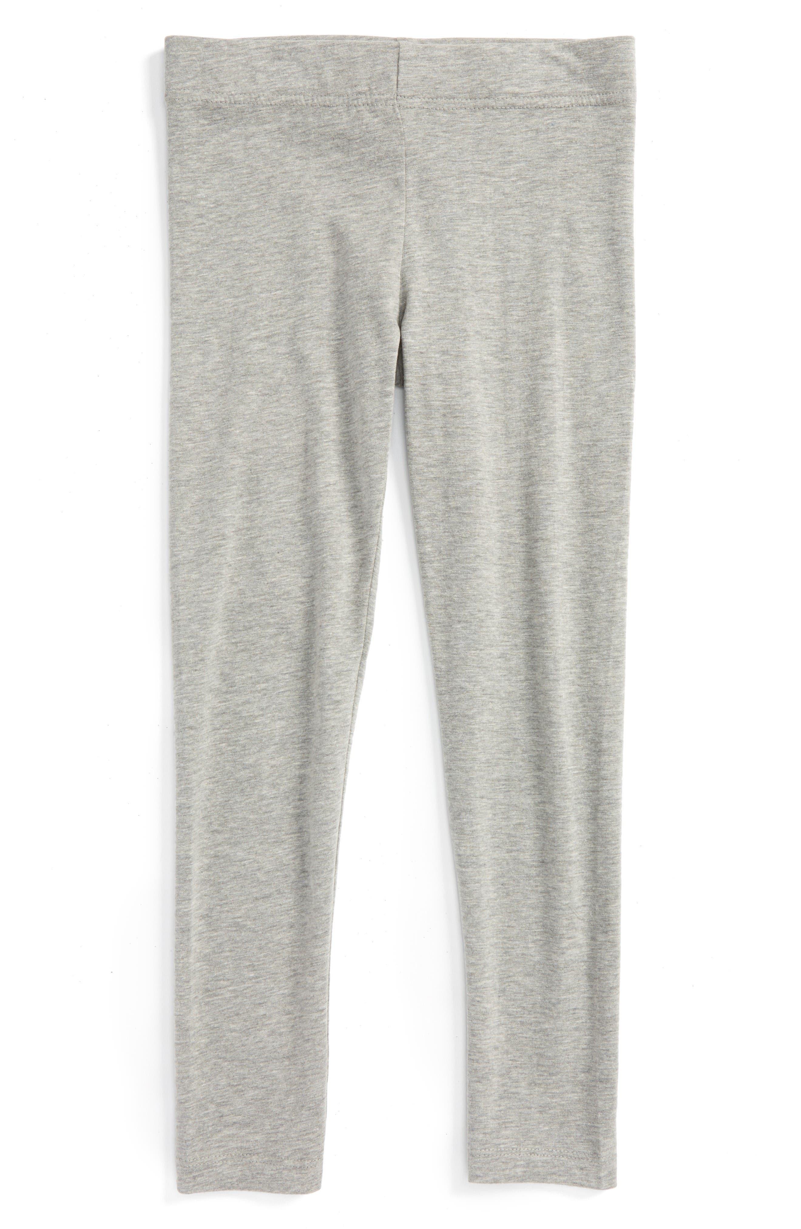 'Core' Leggings,                         Main,                         color, Grey Medium Heather