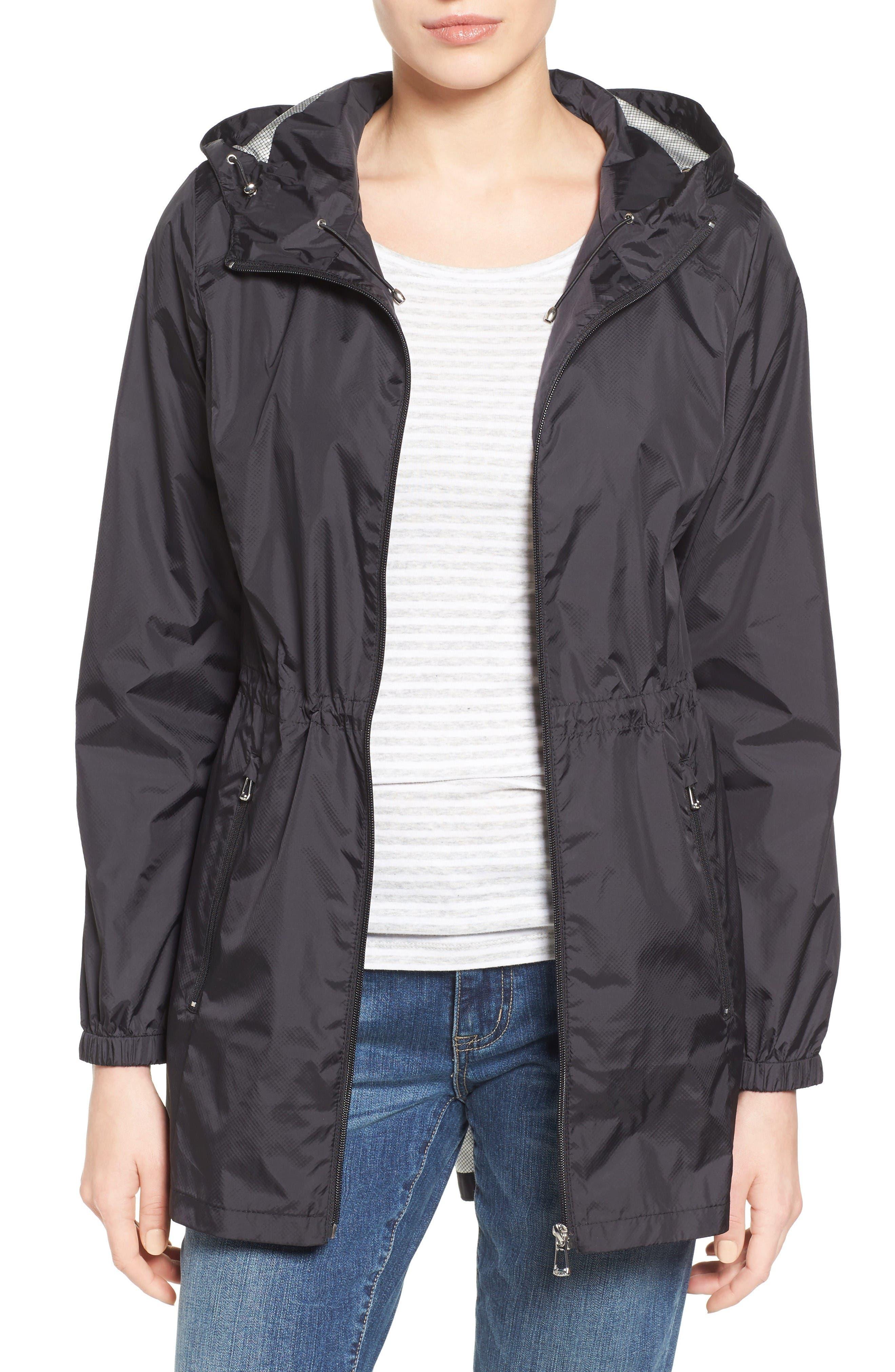 CALVIN KLEIN Packable Rain Jacket