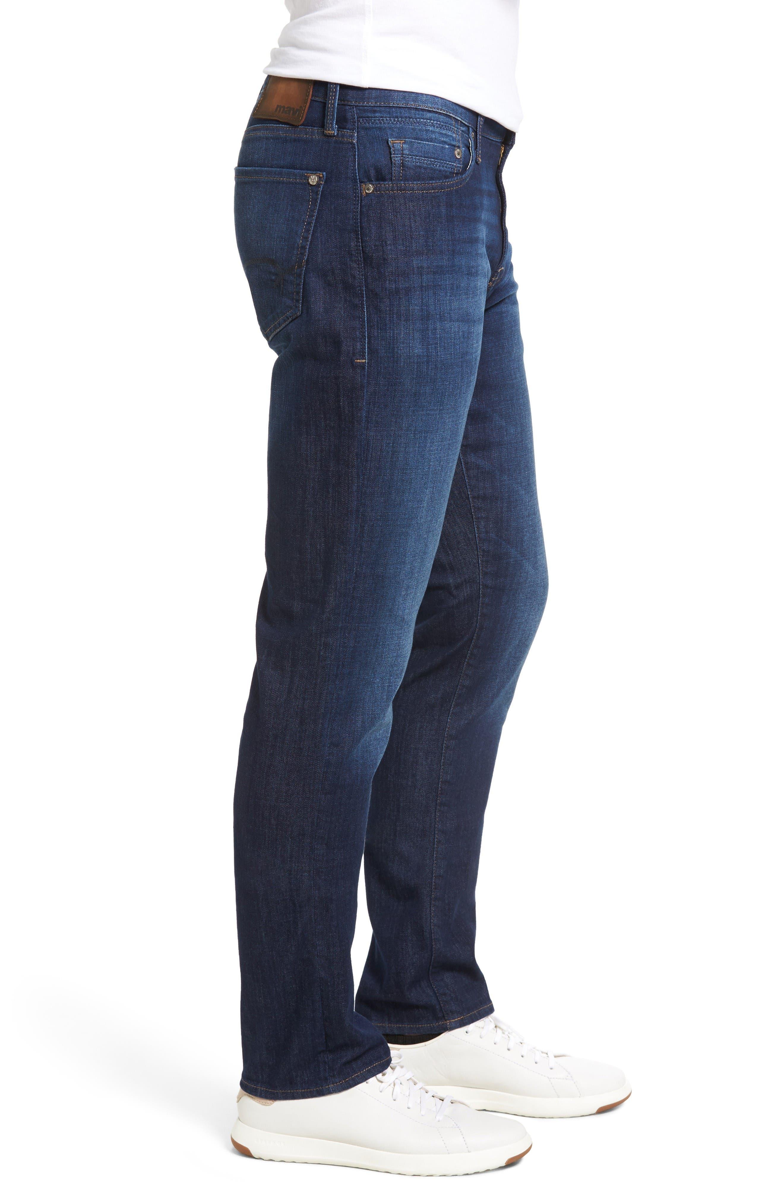 Marcus Slim Straight Leg Jeans,                             Alternate thumbnail 3, color,                             Indigo Portland