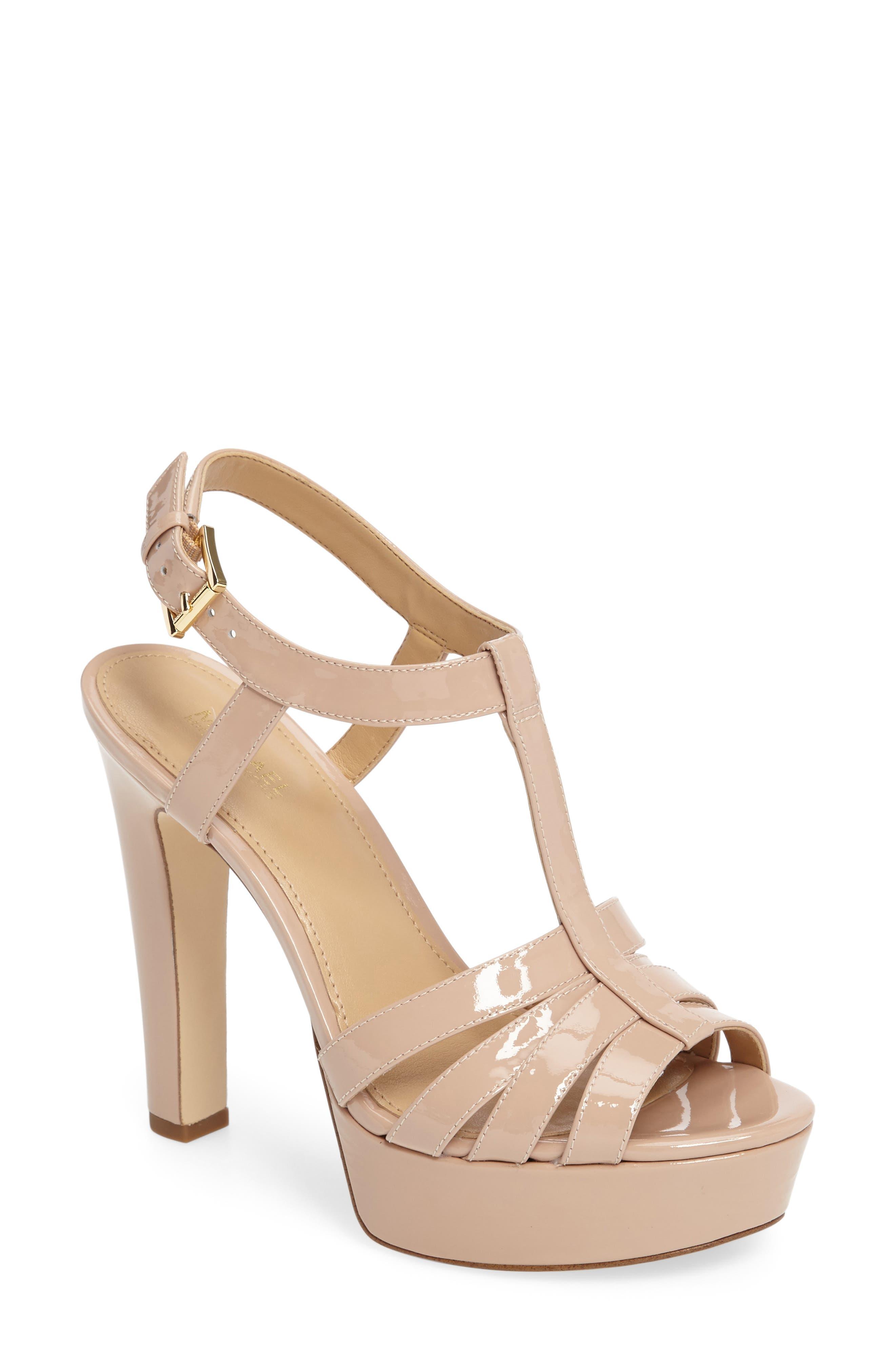 Alternate Image 1 Selected - MICHAEL Michael Kors Catalina Platform Sandal (Women)