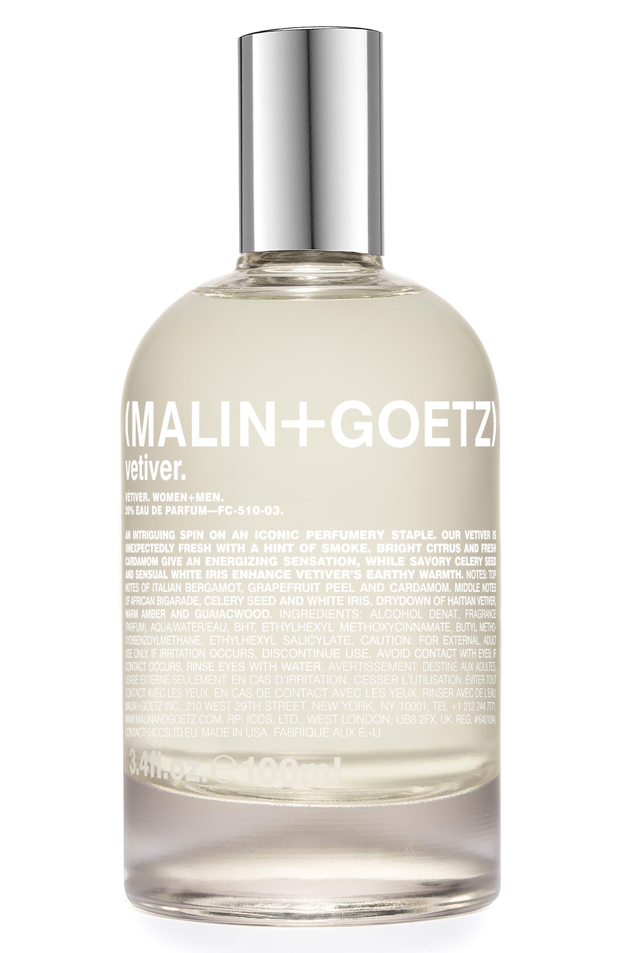 Alternate Image 1 Selected - MALIN+GOETZ Vetiver Eau de Parfum