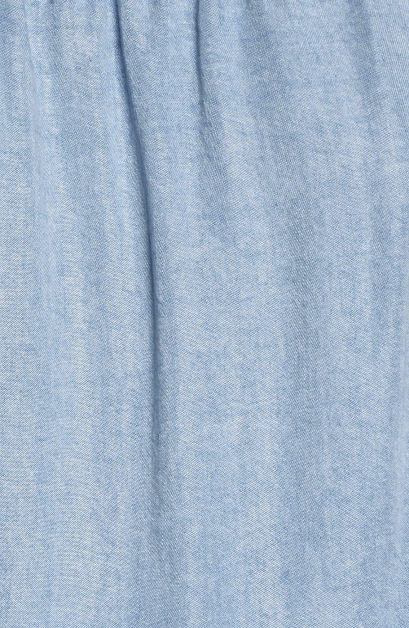 Alternate Image 5  - Splendid Off the Shoulder Blouson Dress