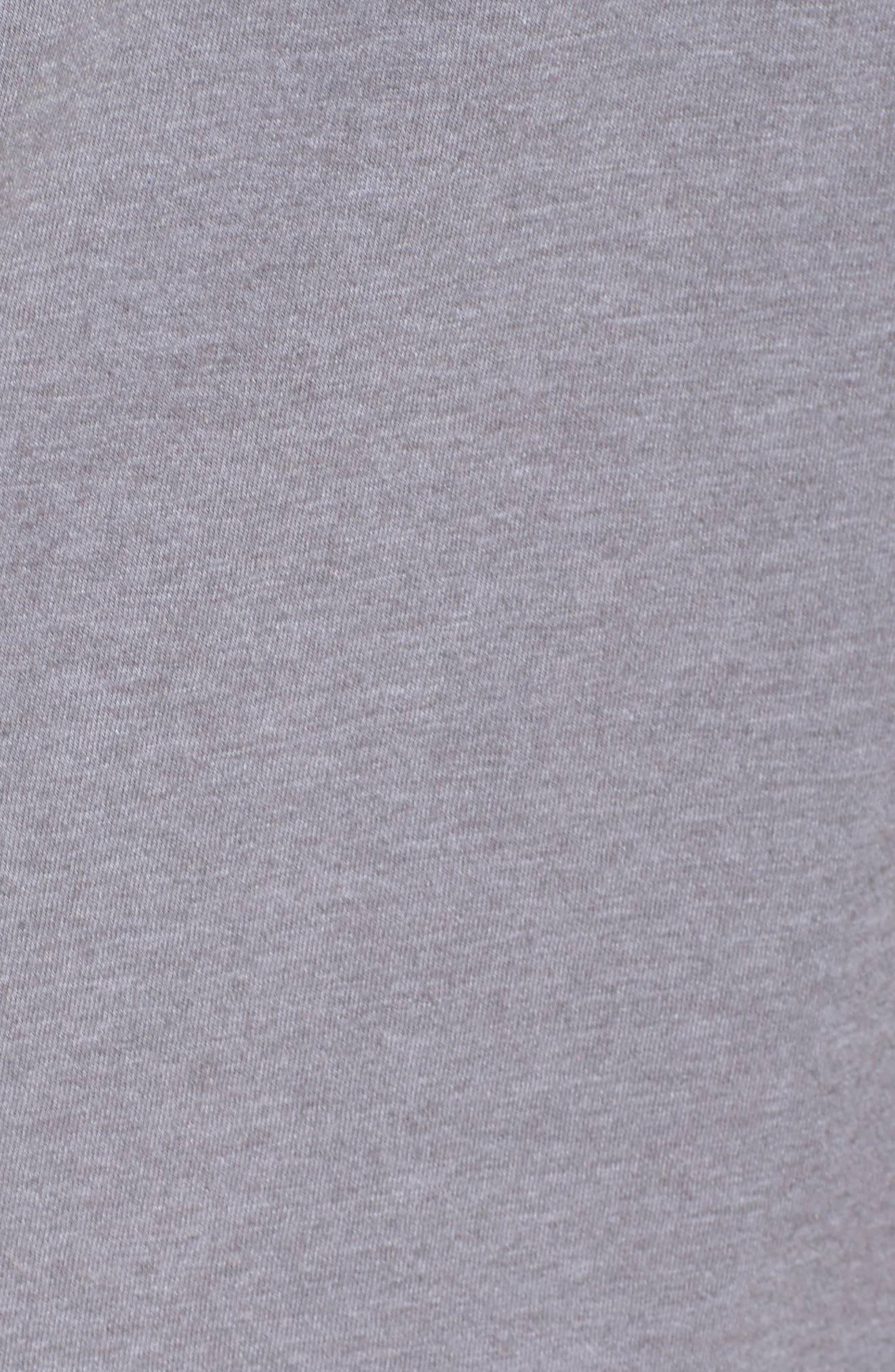 Patgonia Fitz Roy Bison Tee,                             Alternate thumbnail 5, color,                             Narwhal Grey