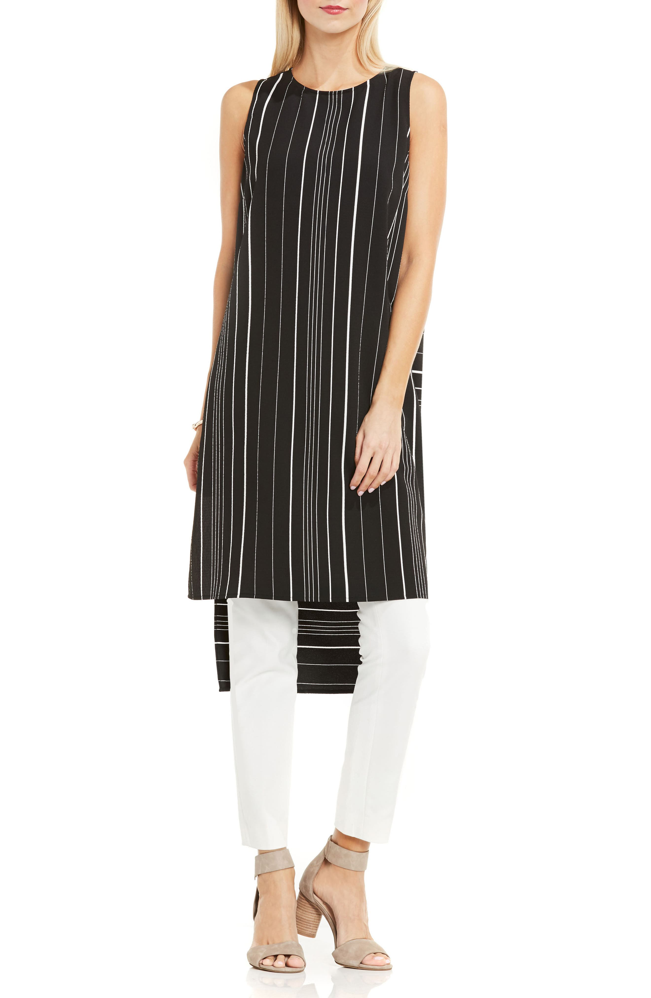 Alternate Image 1 Selected - Vince Camuto Stripe Tunic