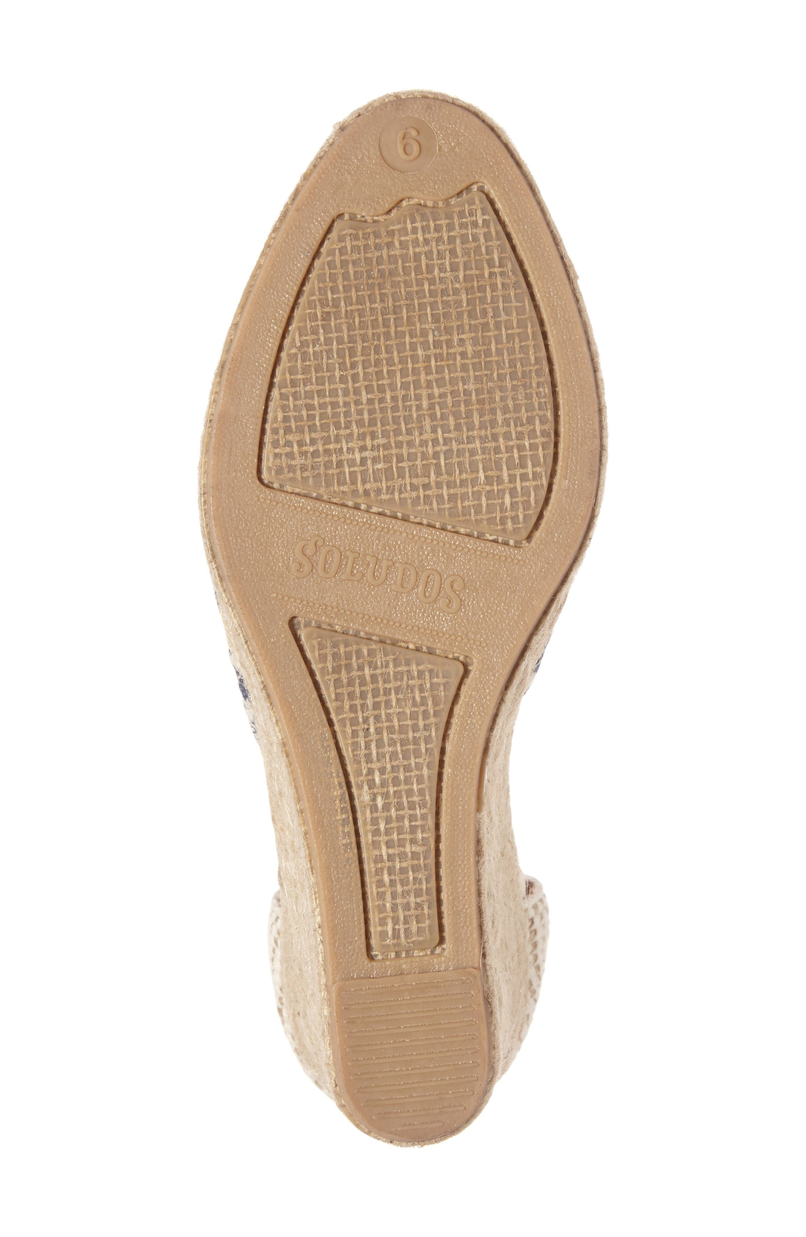 Alternate Image 4  - Soludos Espadrille Wedge Sandal (Women)