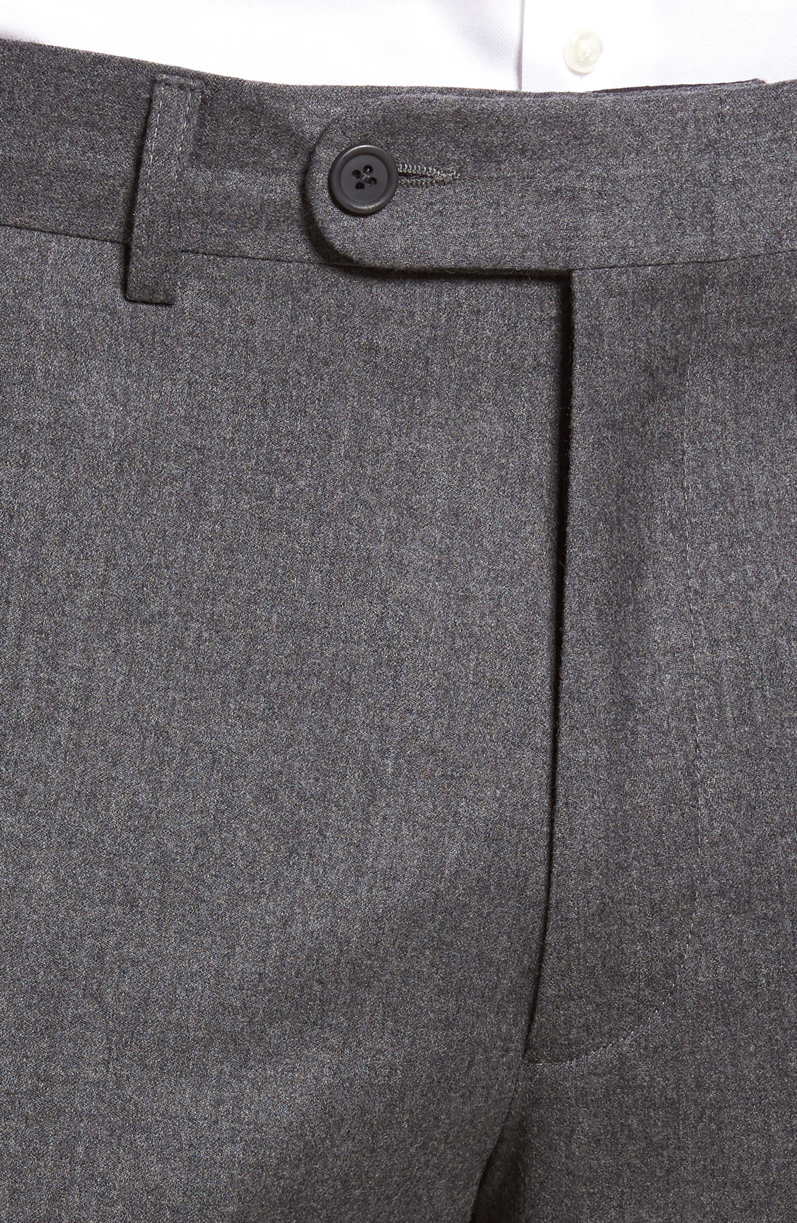 Alternate Image 4  - Bensol Flannel Wool Trousers