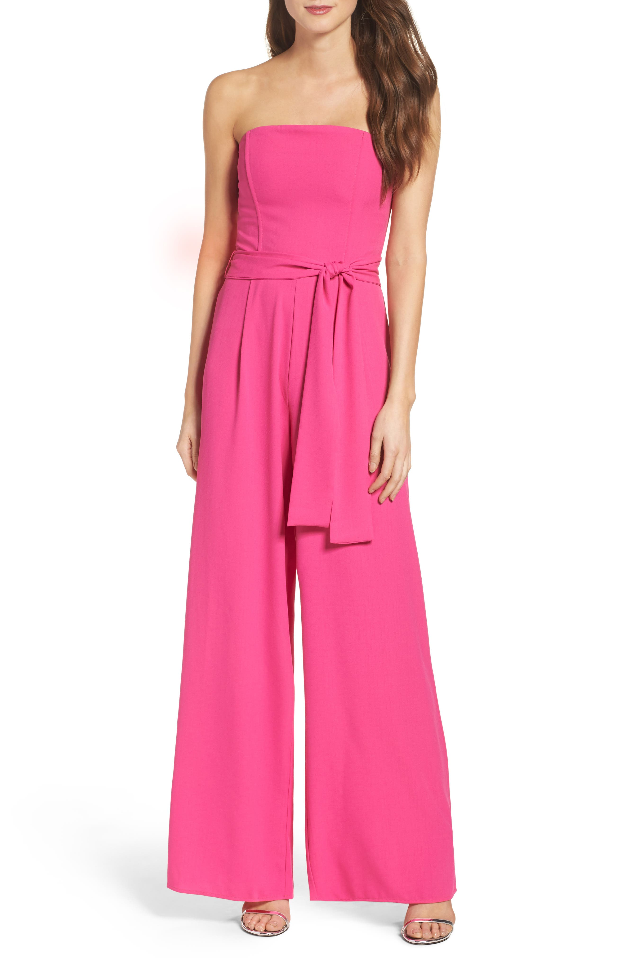 Main Image - Chelsea28 Strapless Jumpsuit