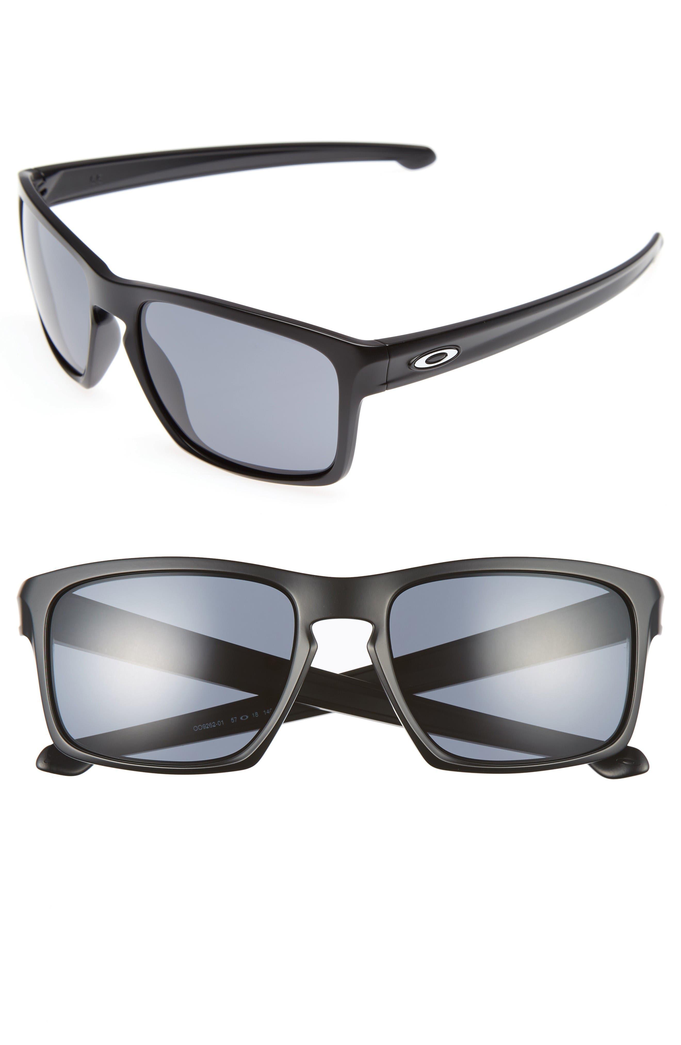 Sliver<sup>®</sup> H2O 57mm Sunglasses,                         Main,                         color, Black