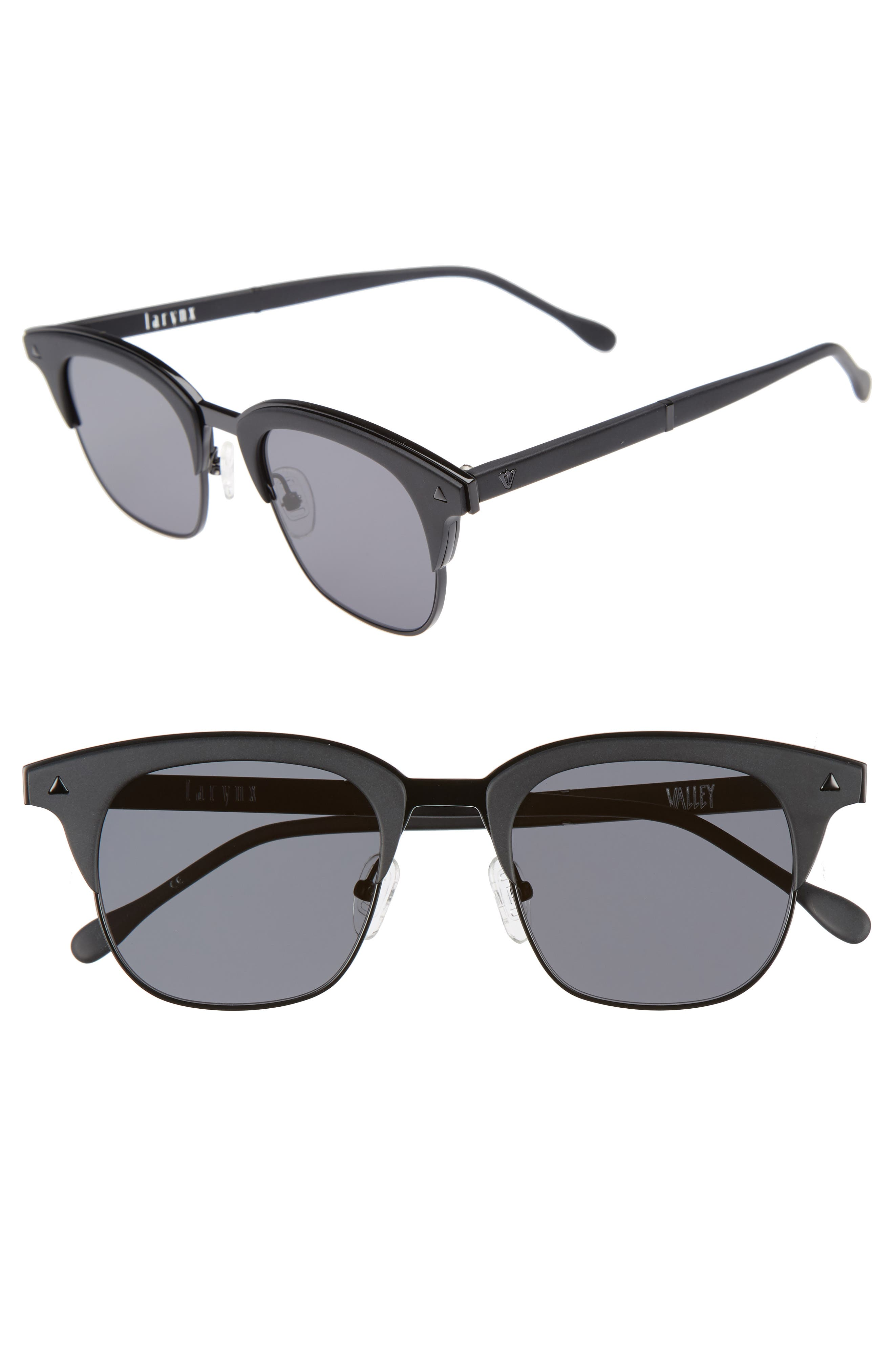 VALLEY Larynx 47mm Retro Sunglasses