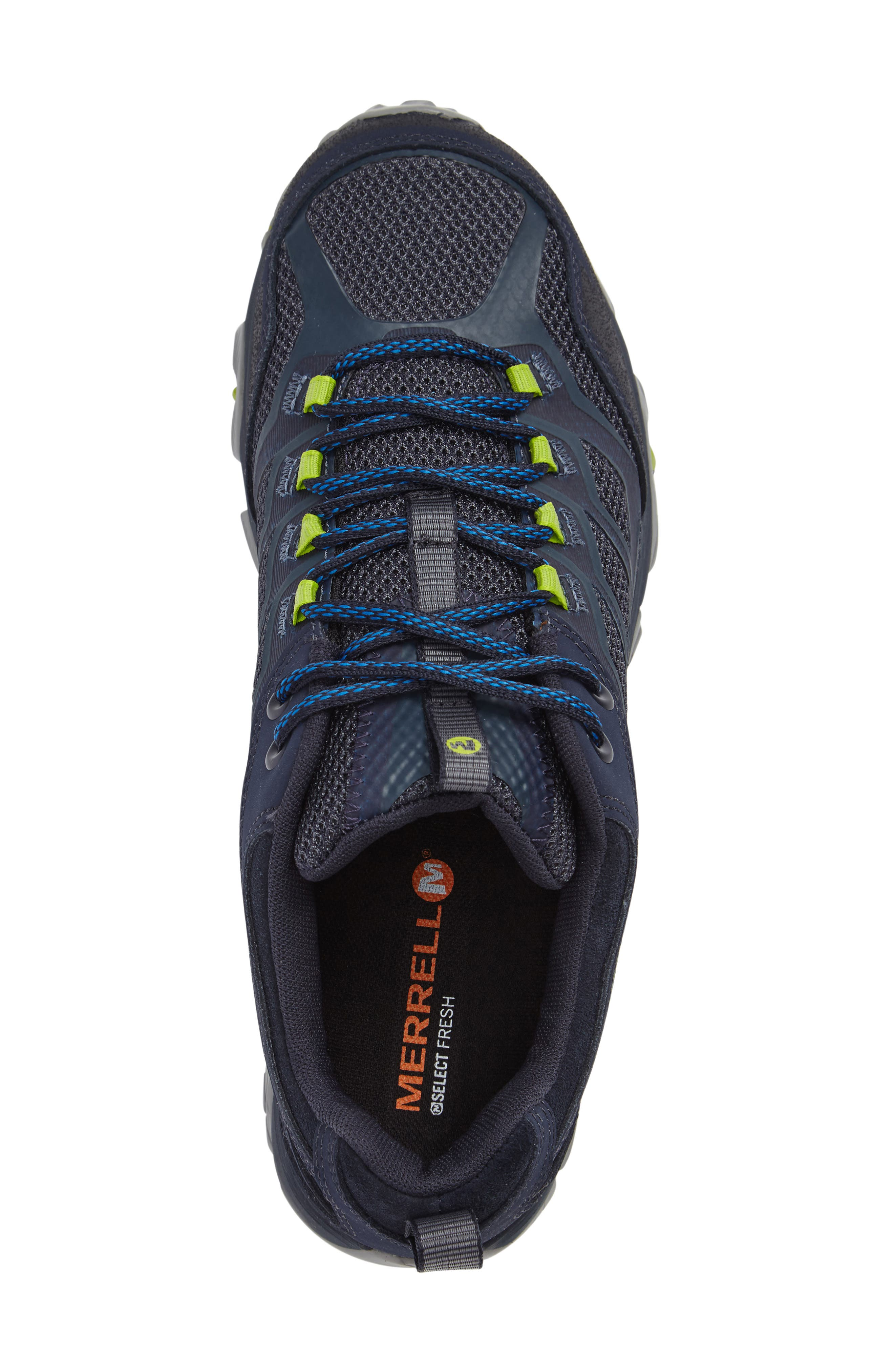 Moab FST Hiking Shoe,                             Alternate thumbnail 3, color,                             Navy