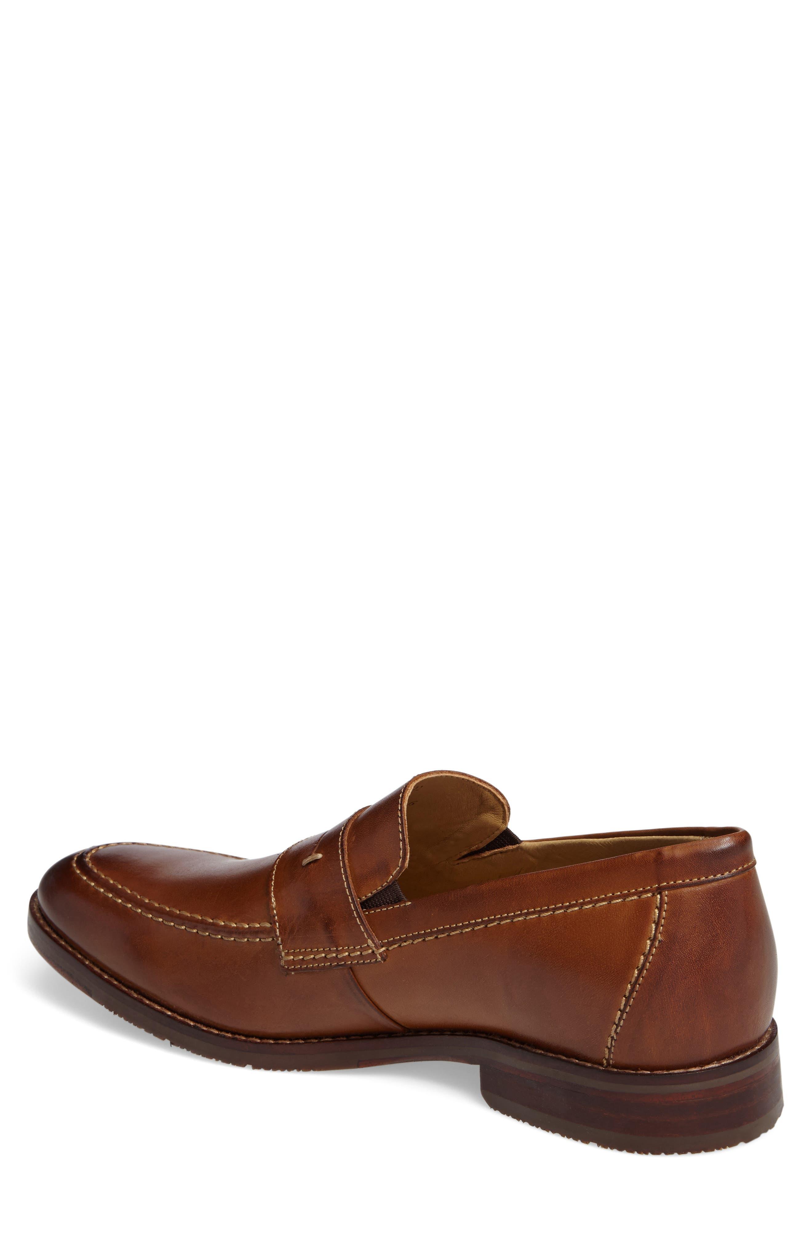 Garner Penny Loafer,                             Alternate thumbnail 2, color,                             Tan Leather