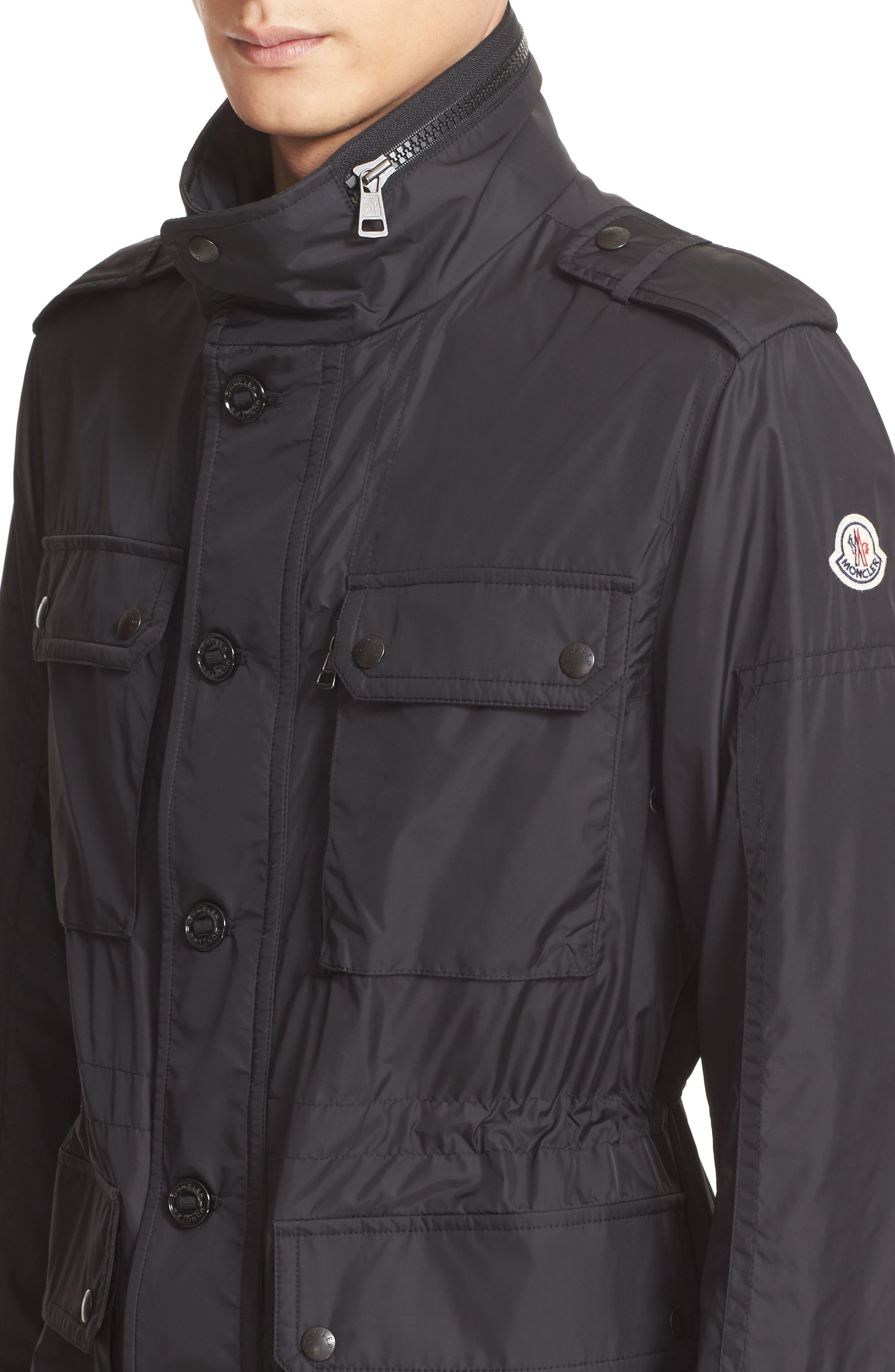 Alternate Image 4  - Moncler Cristian Field Coat