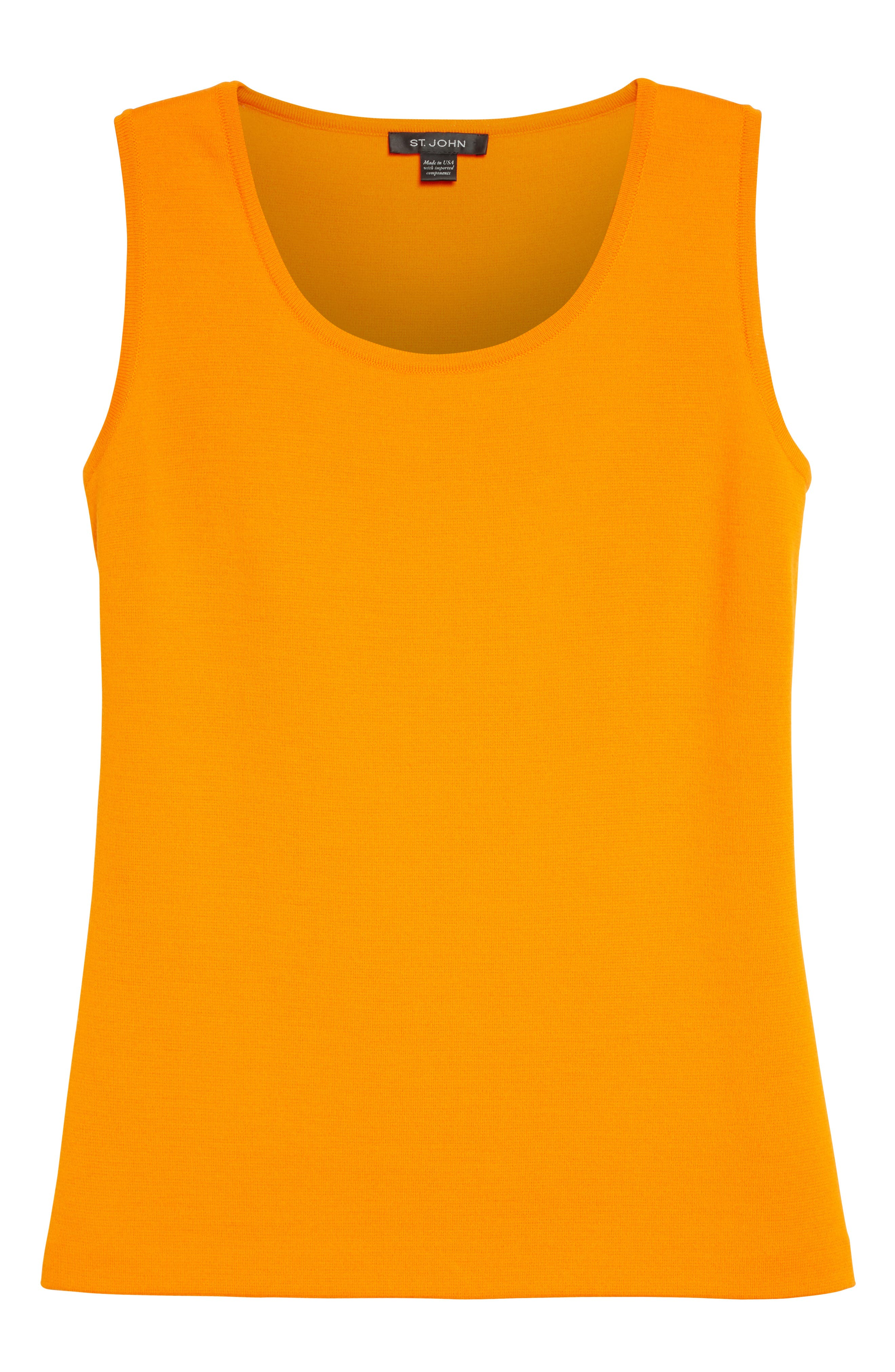 Alternate Image 6  - St. John Collection Milano Knit Contour Shell