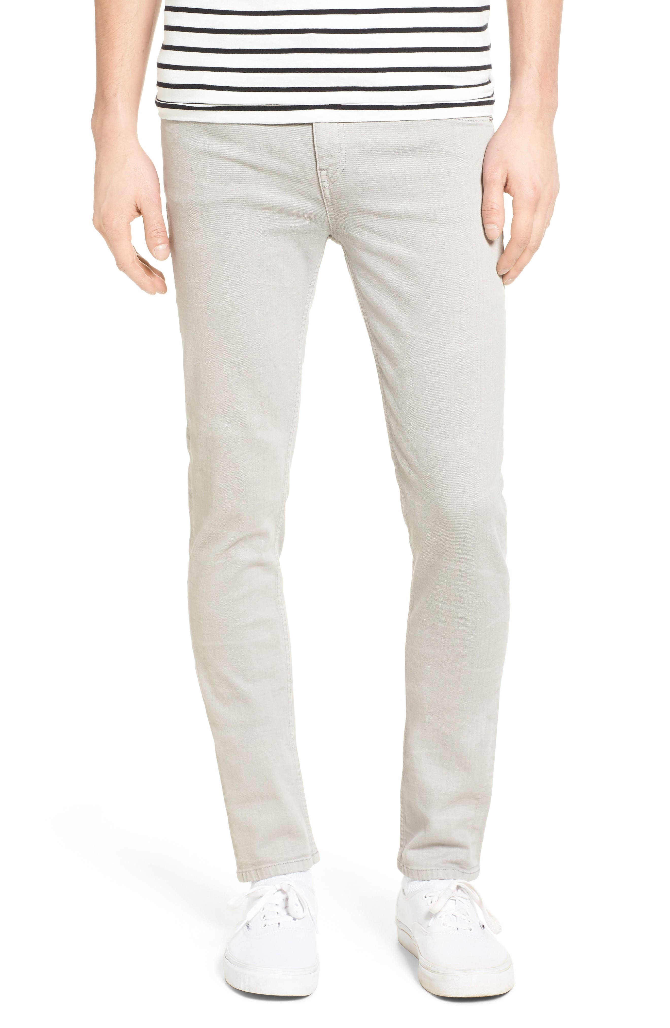 Cheap Monday Tight Skinny Fit Jeans (Greige)