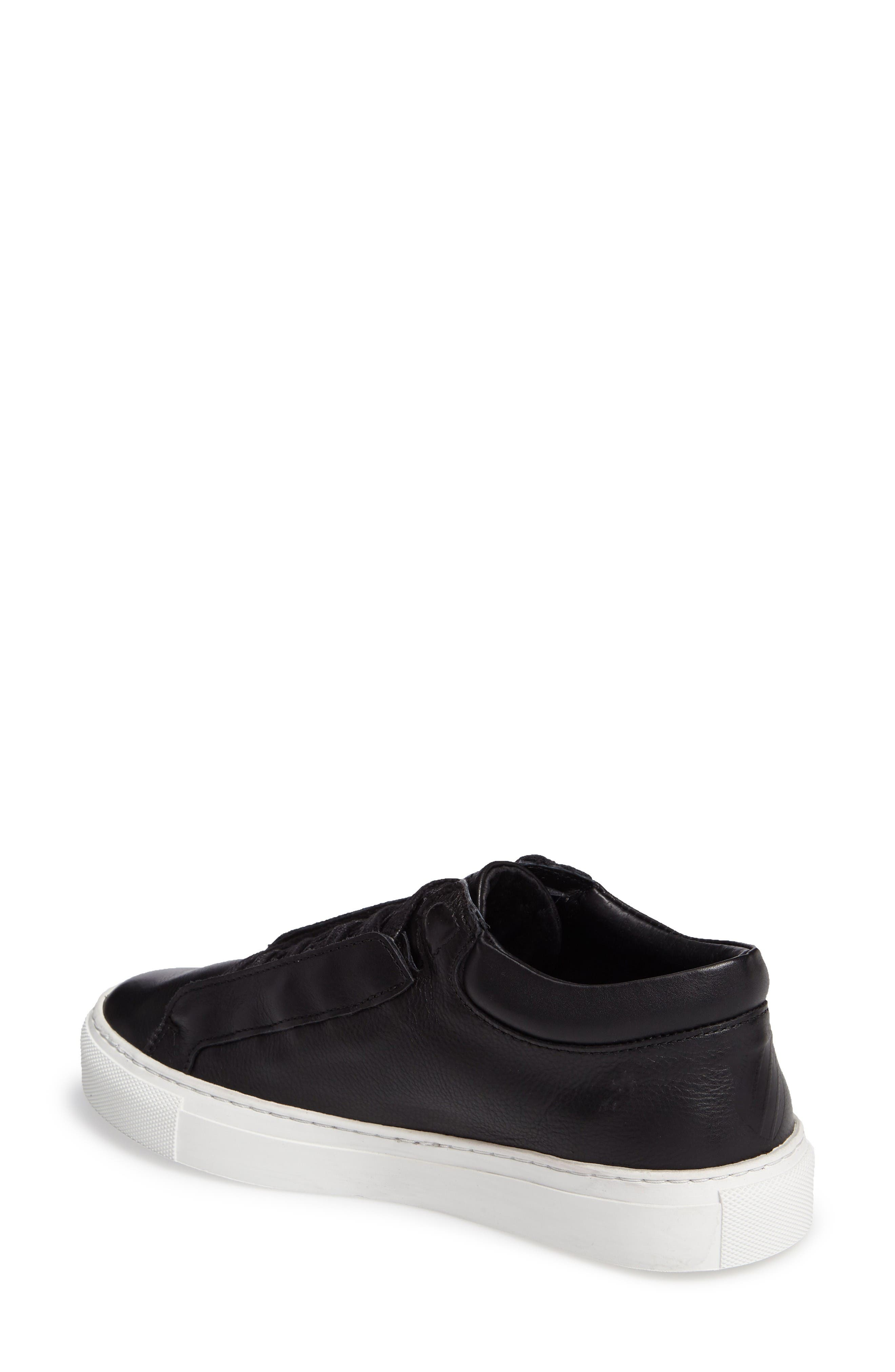 Novo Demi Sneaker,                             Alternate thumbnail 2, color,                             Black/ Off White