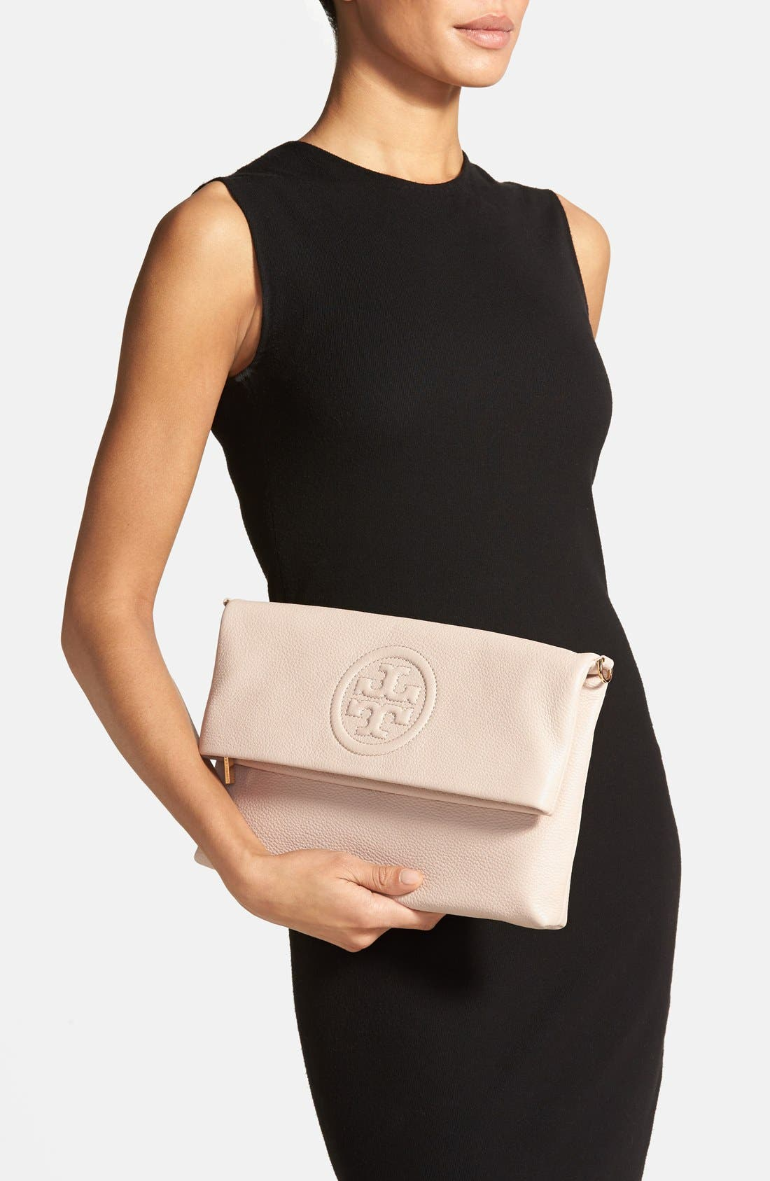 Alternate Image 2  - Tory Burch 'Bombe' Foldover Clutch