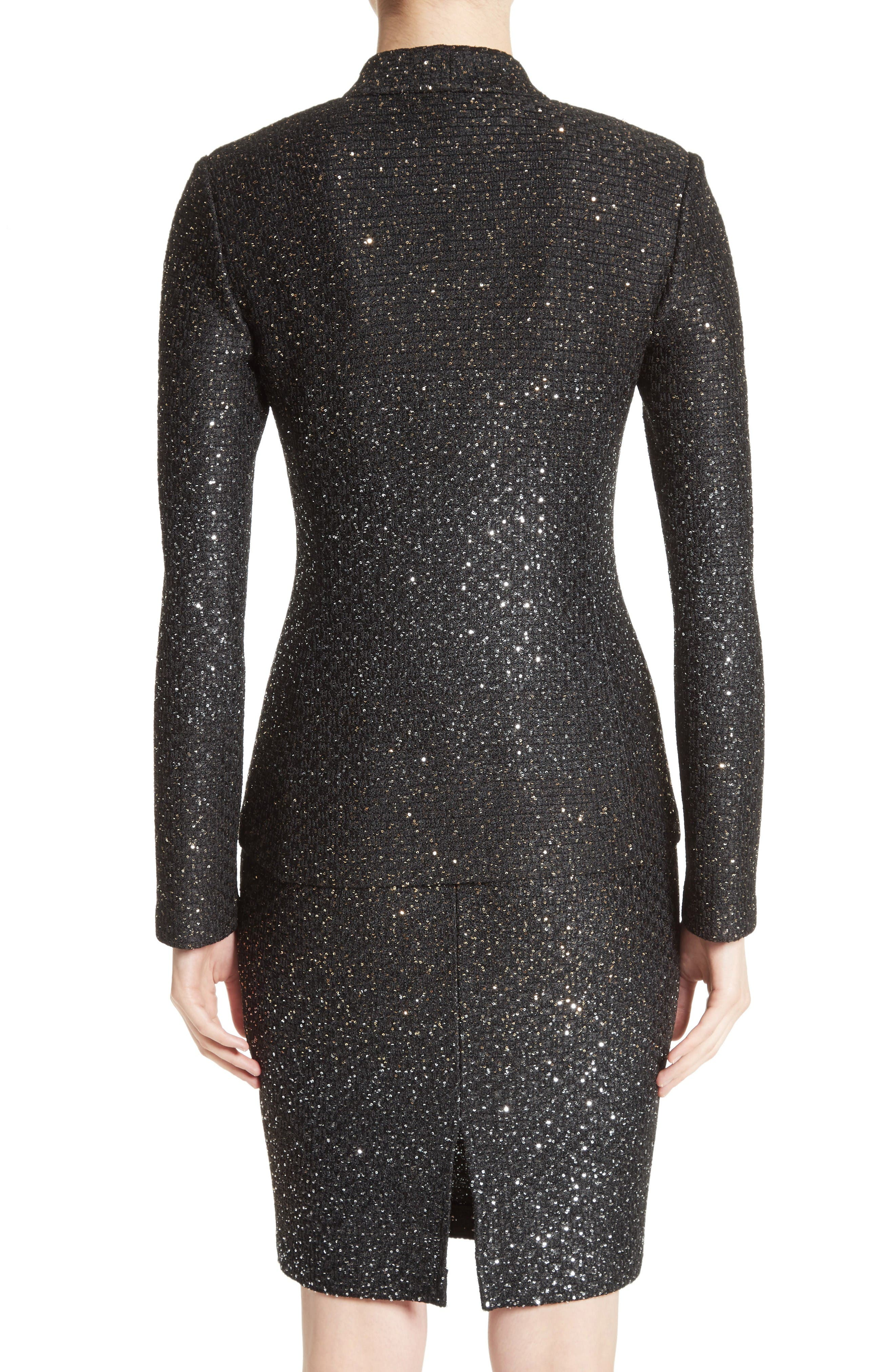Alternate Image 2  - St. John Collection Pranay Sequin Knit Jacket