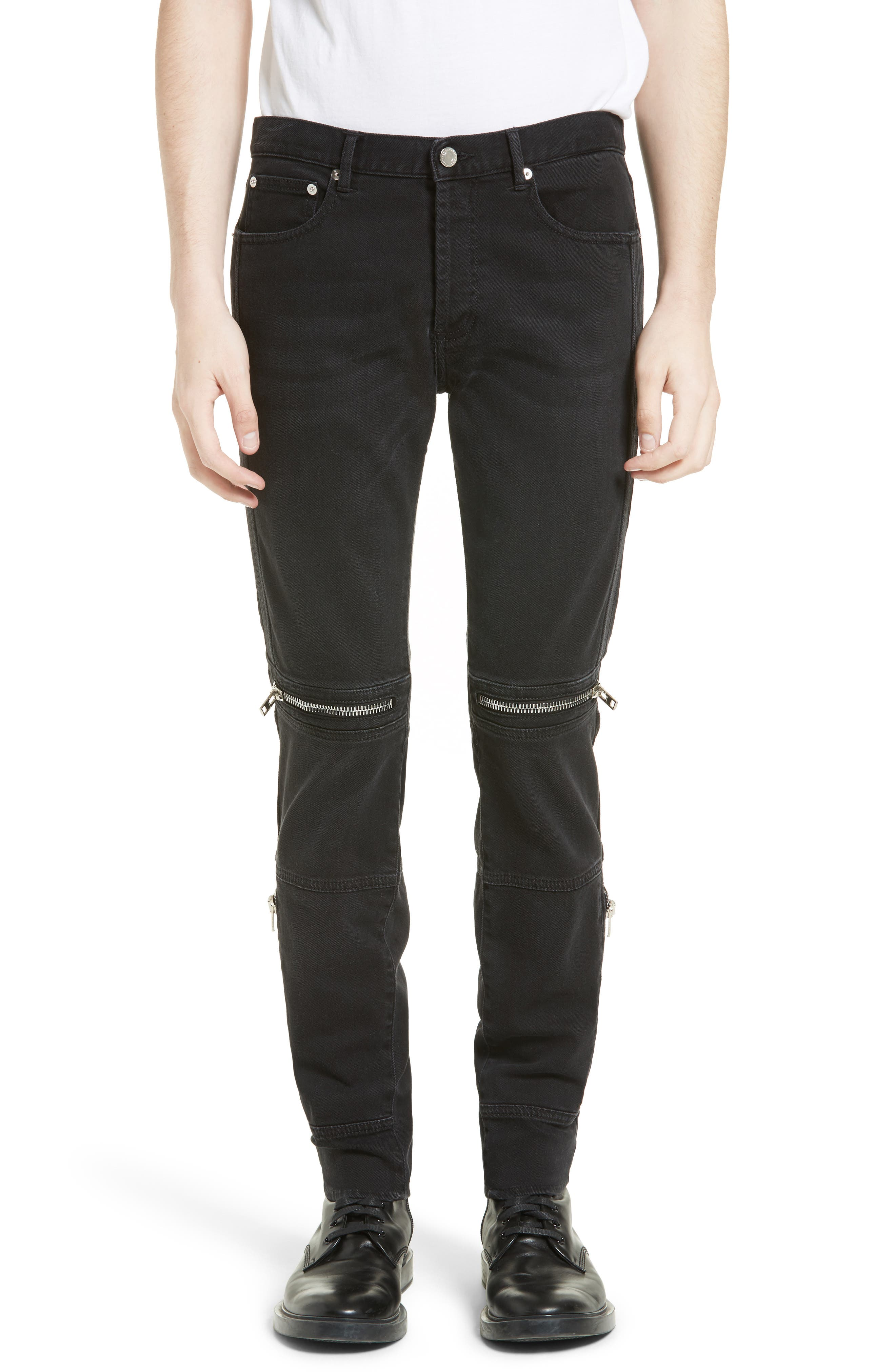 Givenchy Vintage Style Biker Jeans