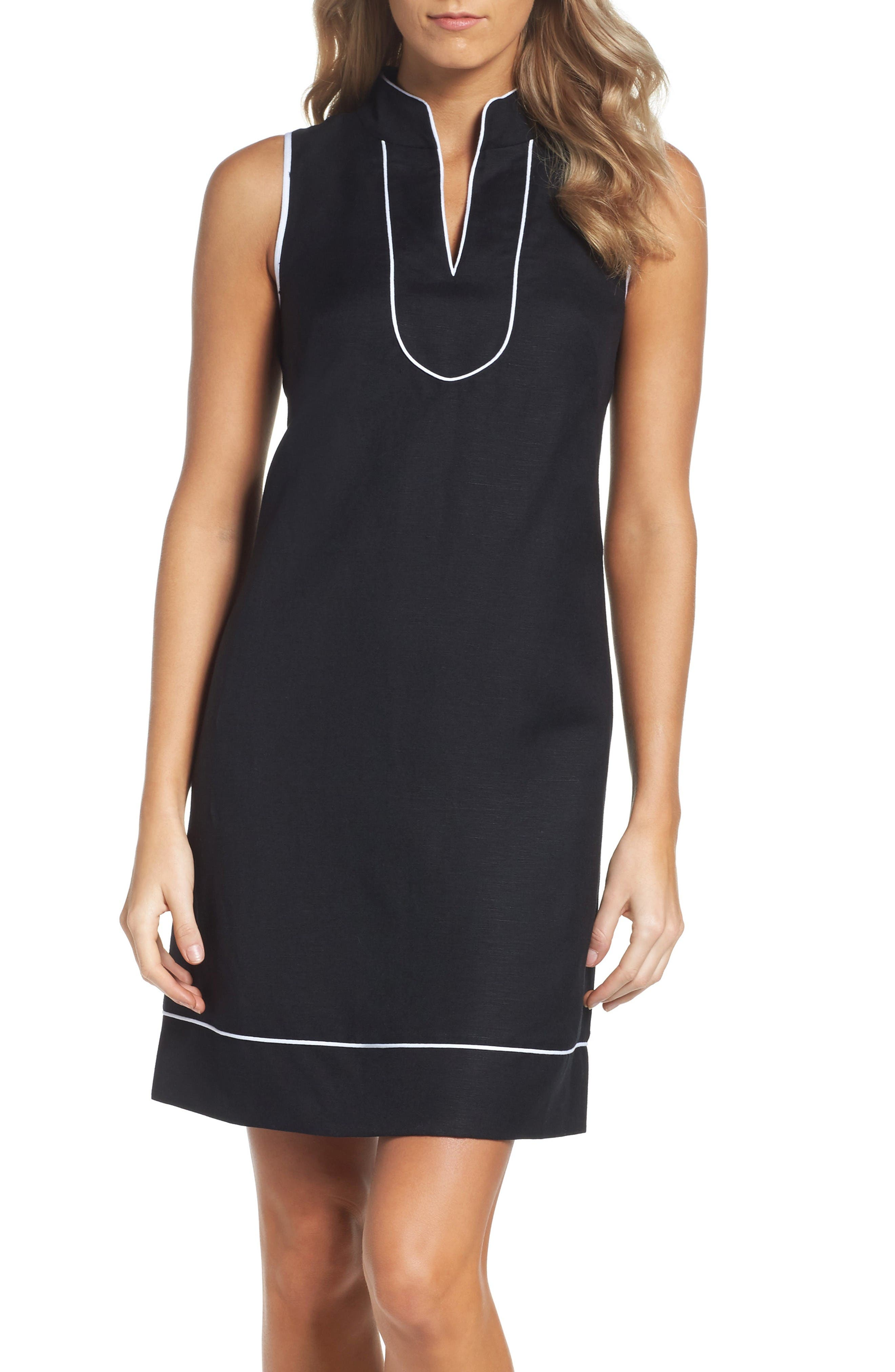 Main Image - Eliza J Piped Sheath Dress