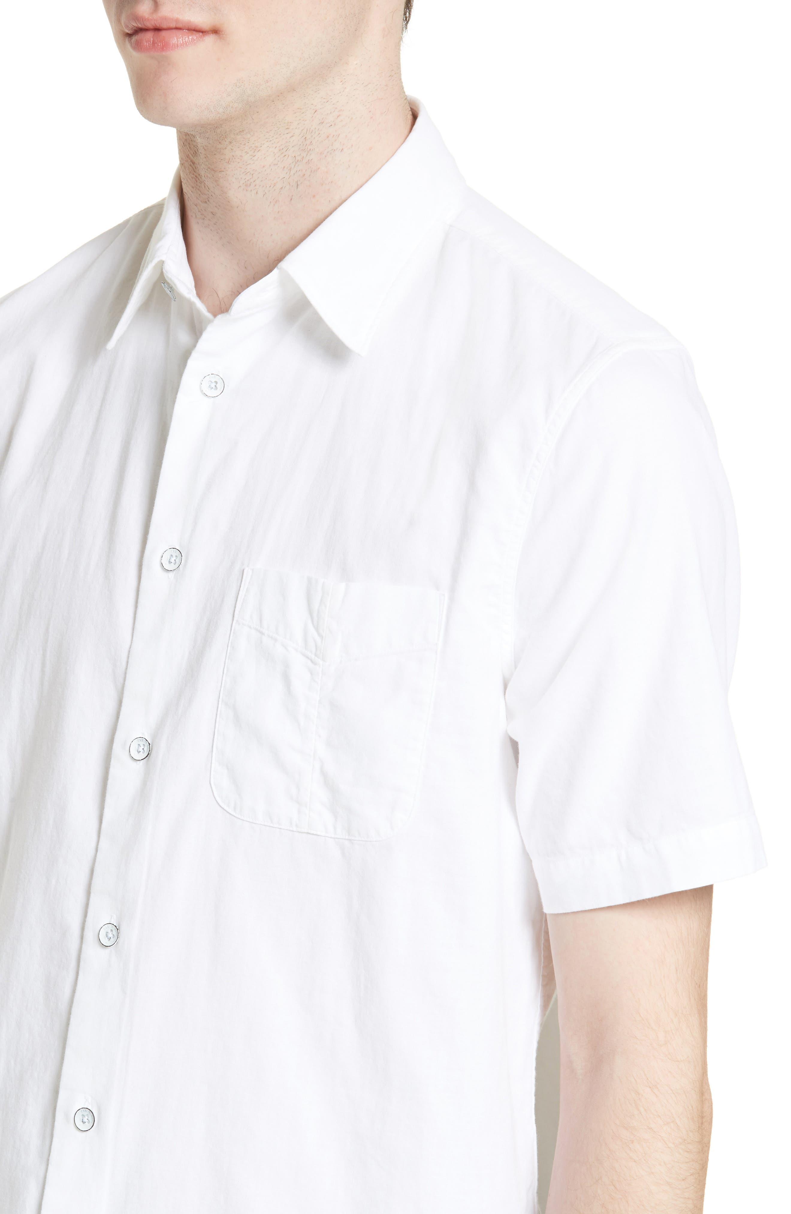 Standard Issue Beach Trim Fit Sport Shirt,                             Alternate thumbnail 2, color,                             White
