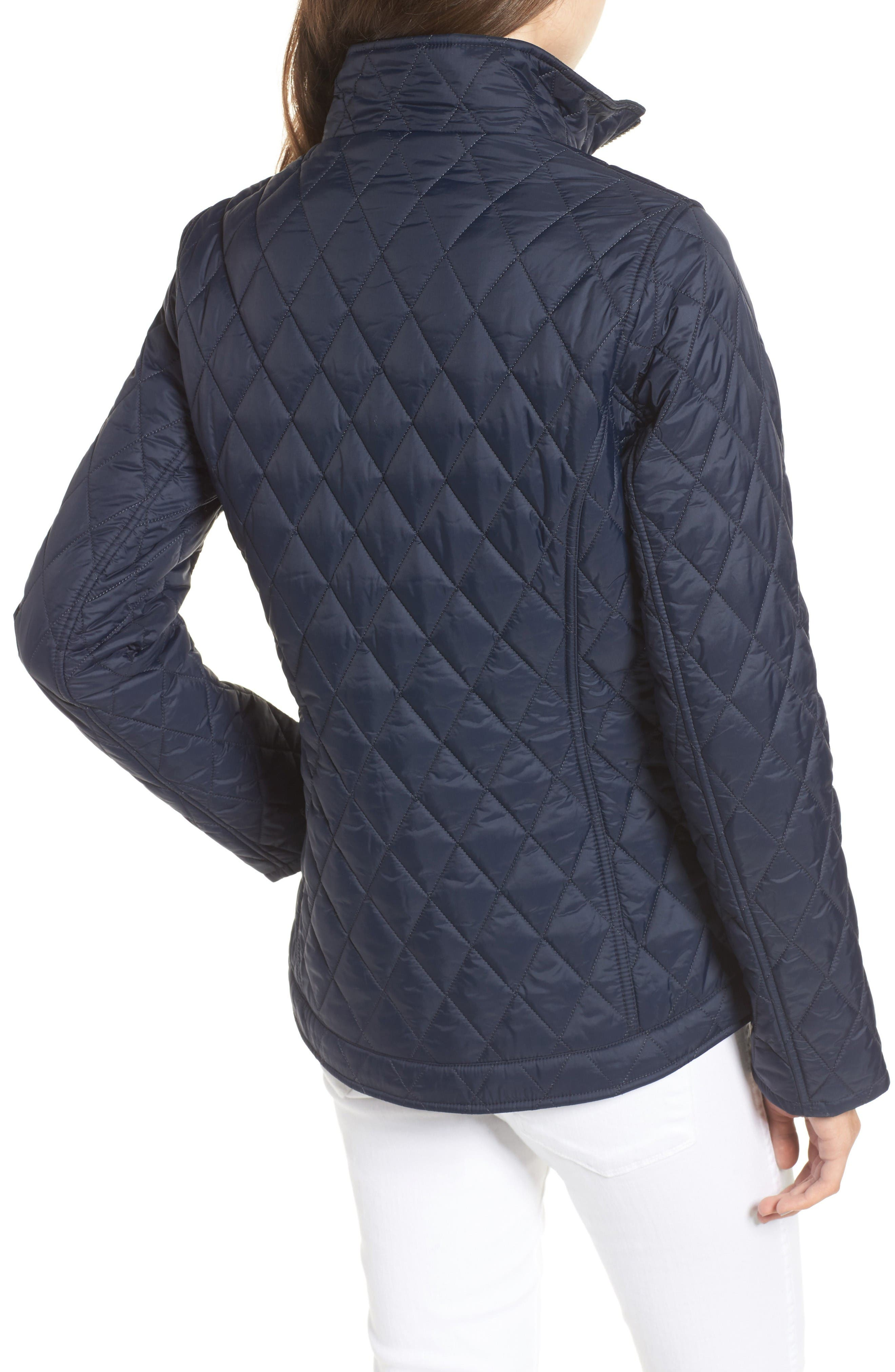 Dolostone Quilted Jacket,                             Alternate thumbnail 2, color,                             Dark Navy