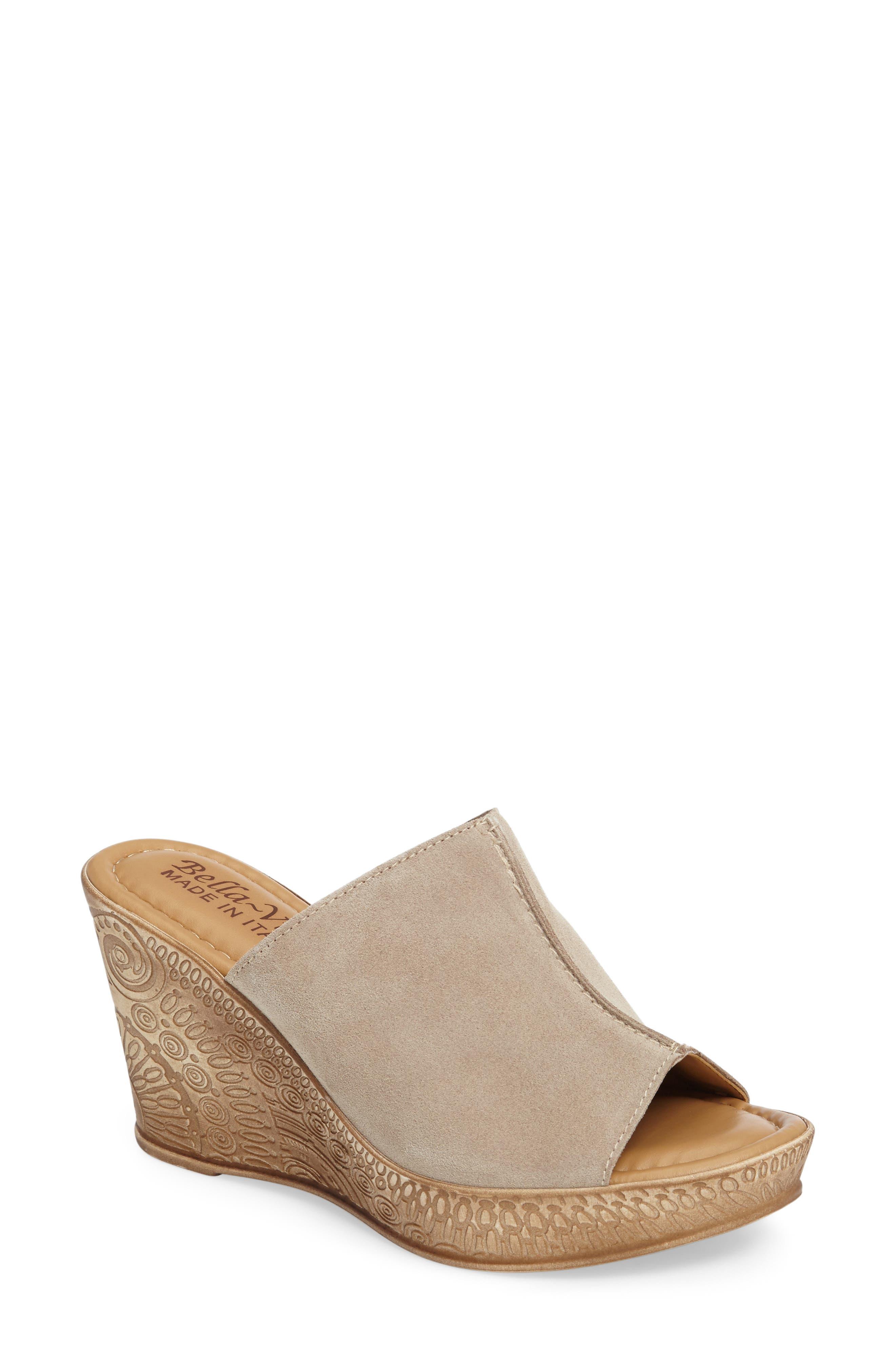 BELLA VITA Wedge Slide Sandal