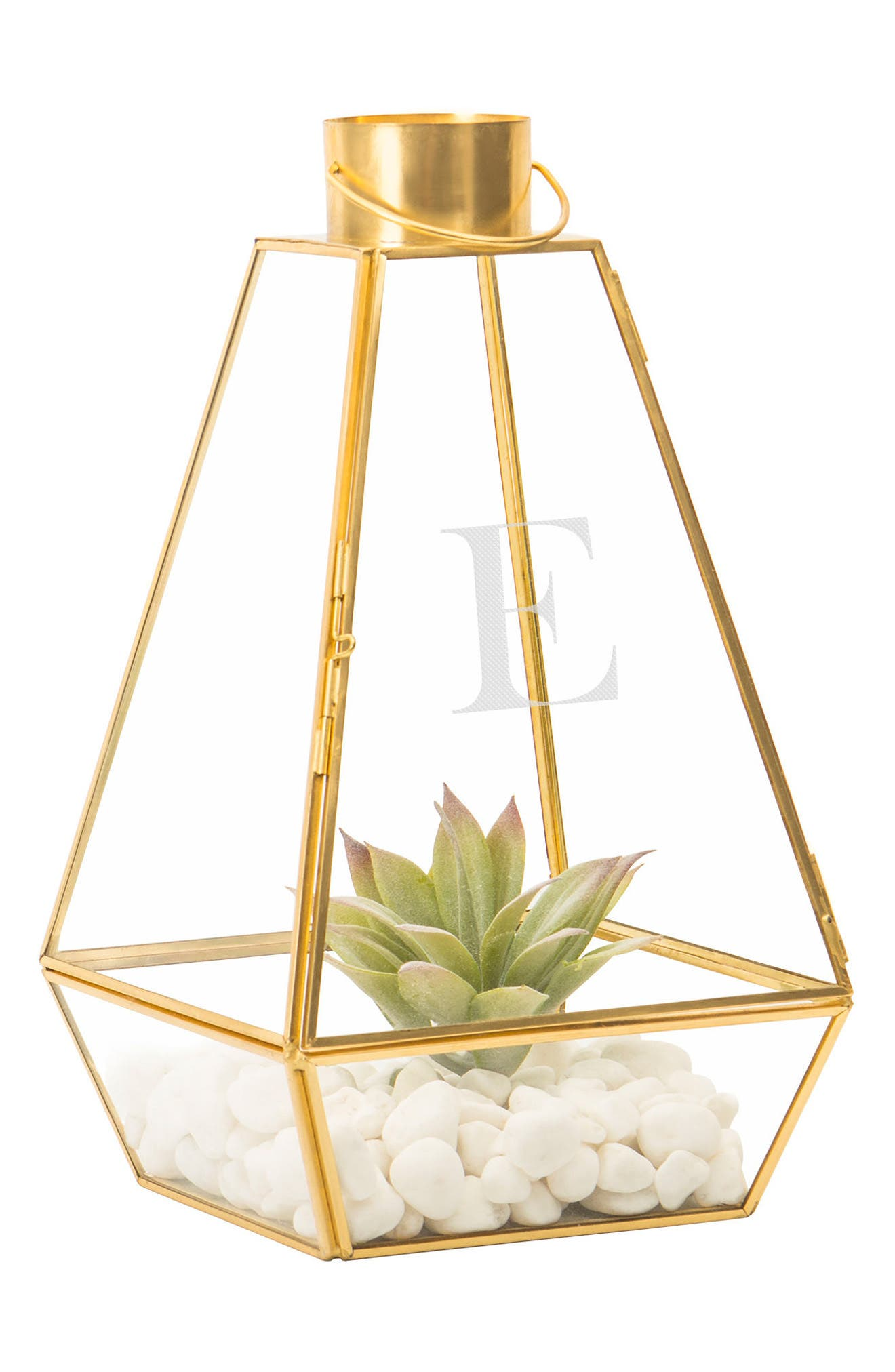 Monogram Lantern,                             Alternate thumbnail 2, color,