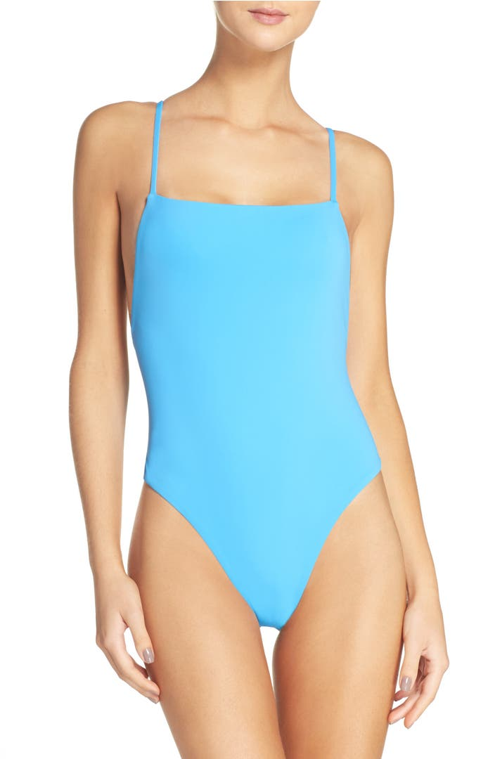 Mara Hoffman High Cut One-Piece Swimsuit | Nordstrom