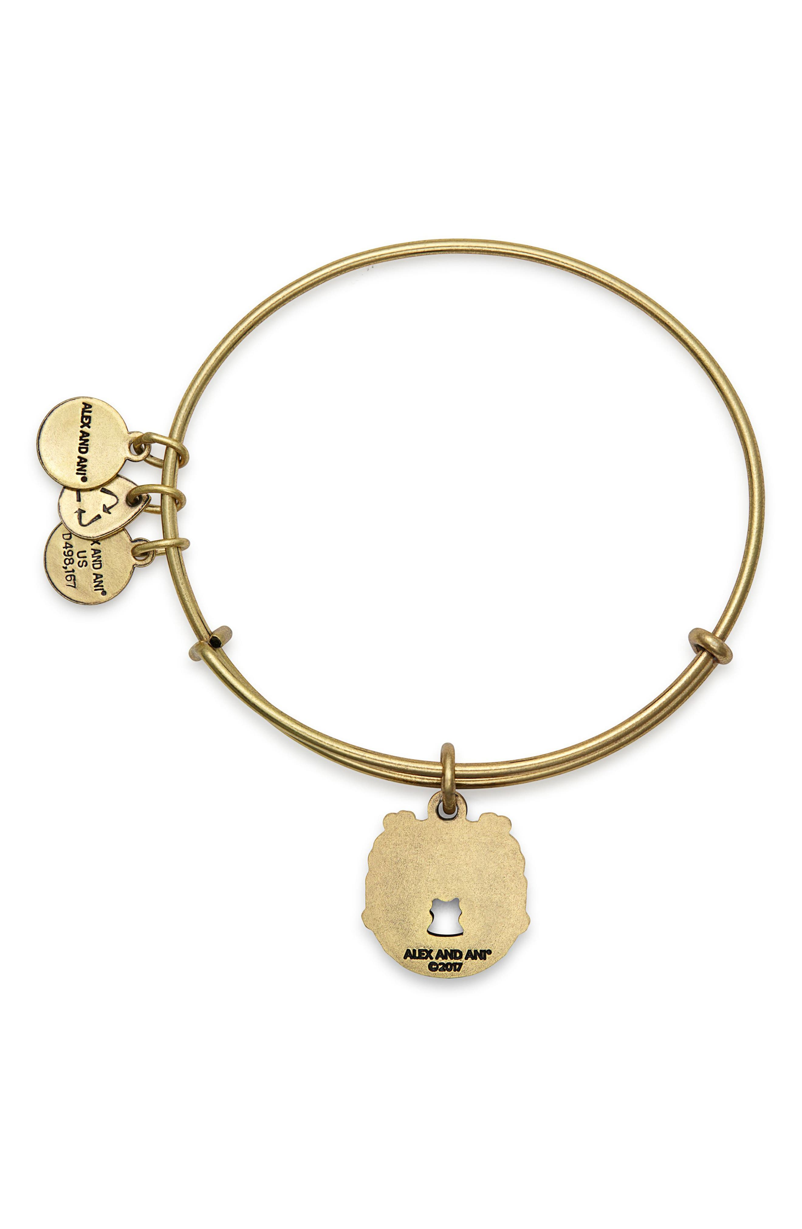Alternate Image 2  - Alex and Ani Fortune's Favor Adjustable Wire Bangle