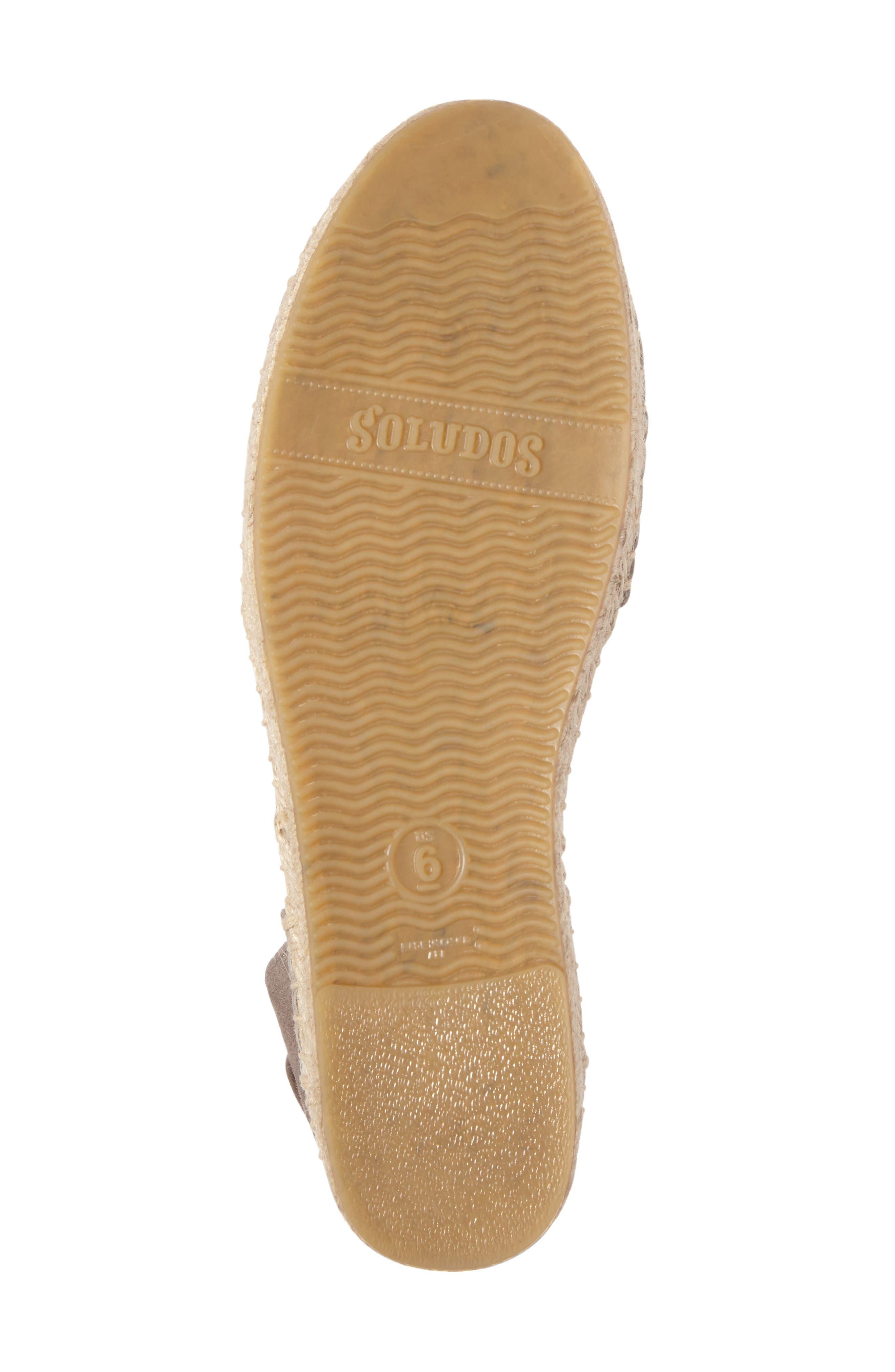 Alternate Image 4  - Soludos Lace-Up Sandal (Women)
