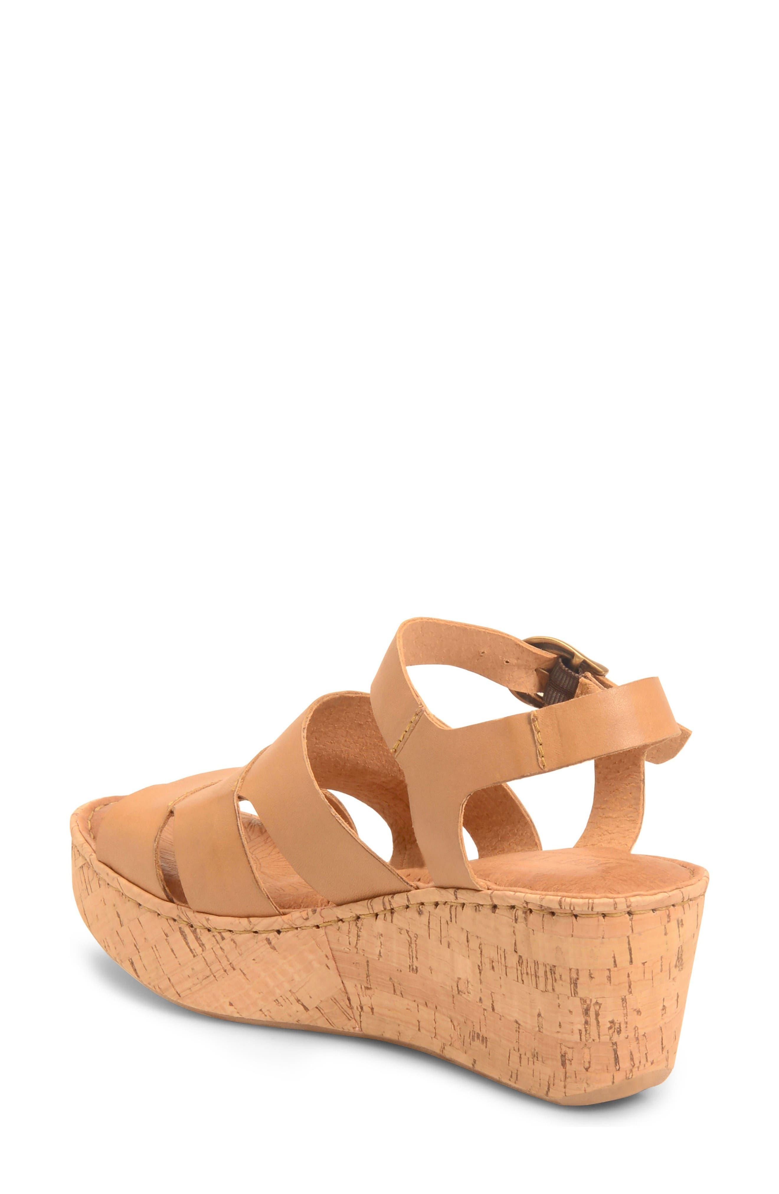 Alternate Image 2  - Børn Anori Platform Wedge Sandal (Women)