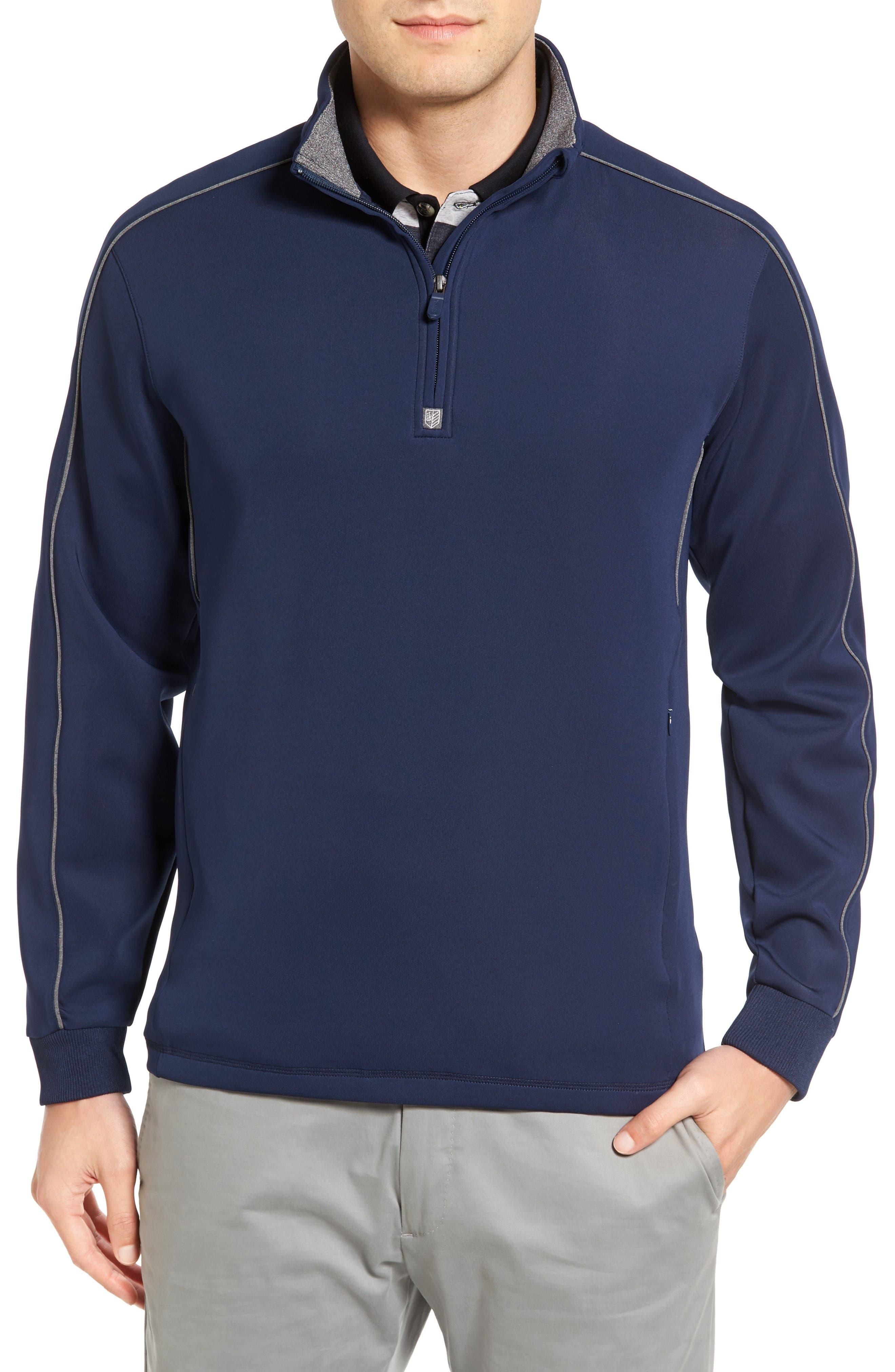 Main Image - Bobby Jones Tech Quarter Zip Pullover