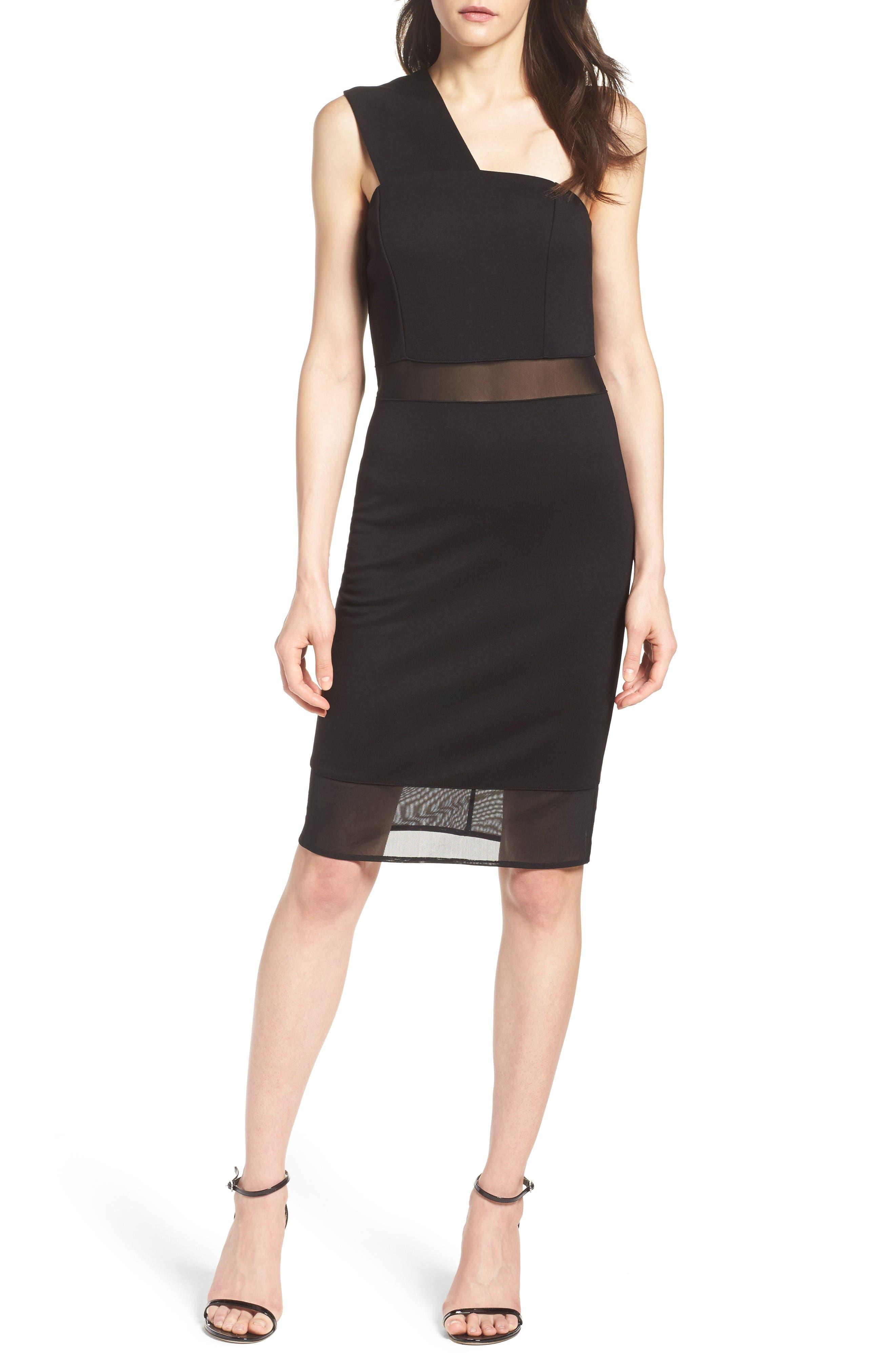 Alternate Image 4  - French Connection Fashion Week One-Shoulder Dress