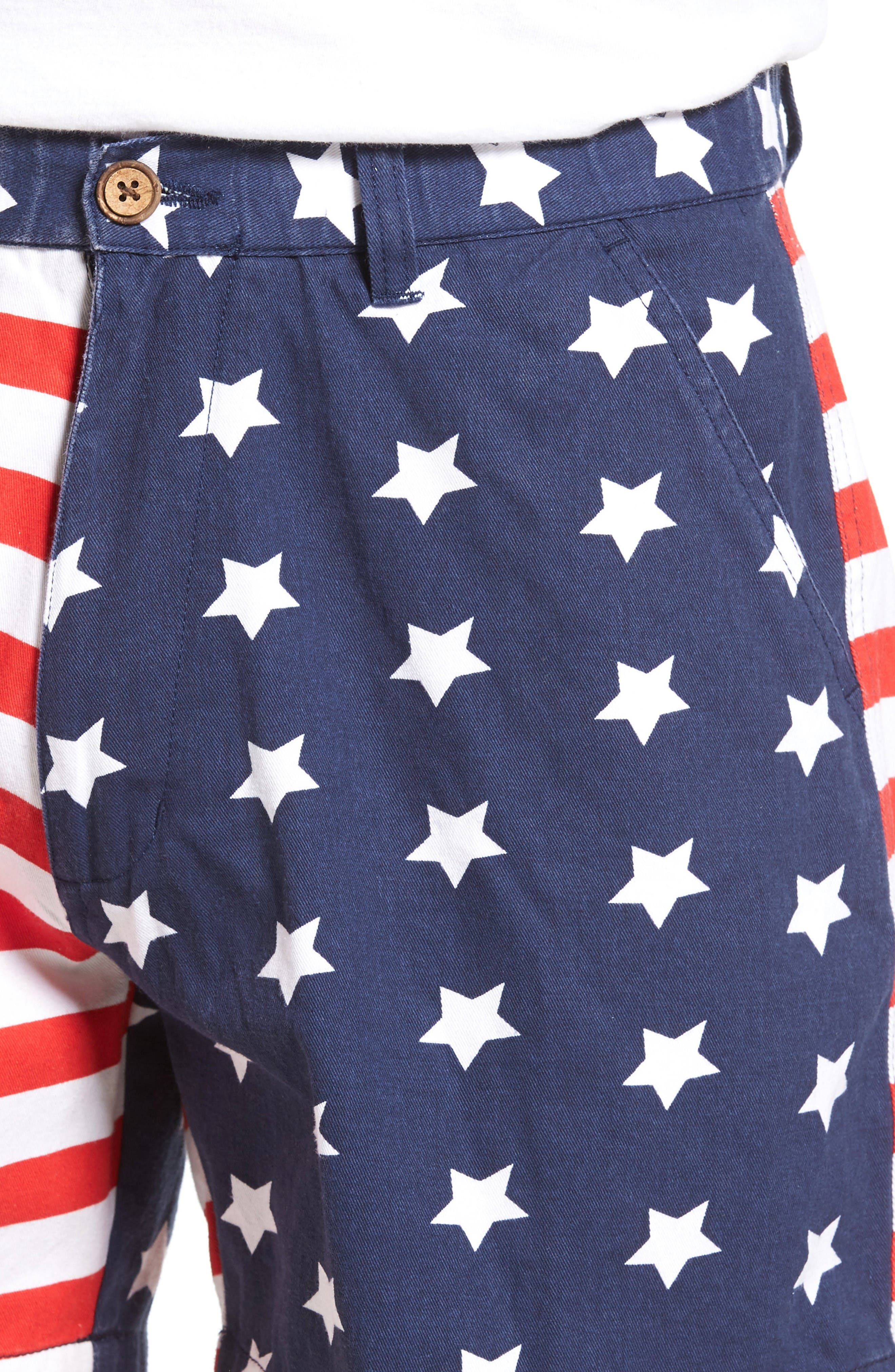 Alternate Image 4  - Vintage 1946 Snappers Americana Shorts