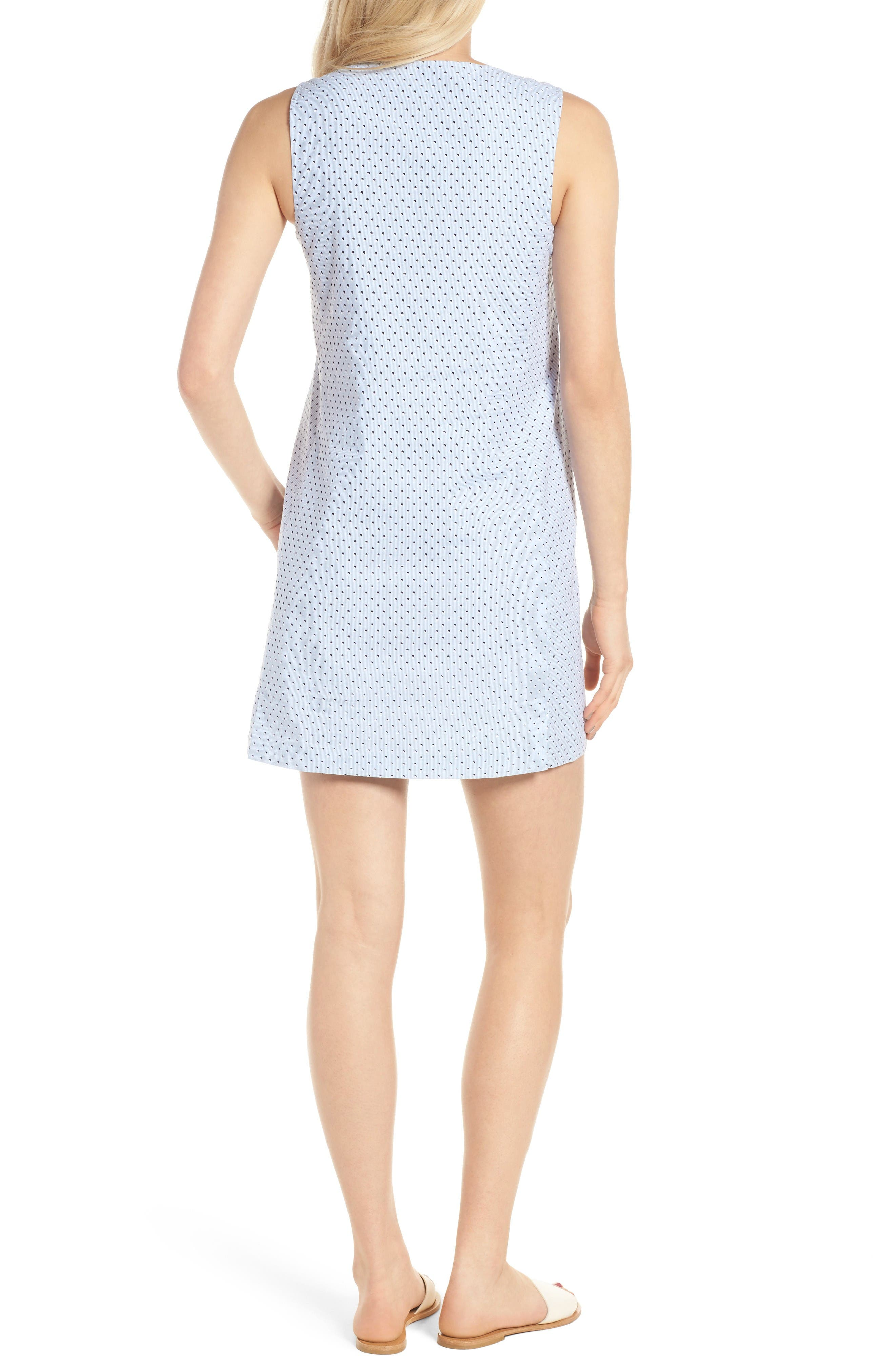 Isabel Tunic Dress,                             Alternate thumbnail 2, color,                             Baby Blue