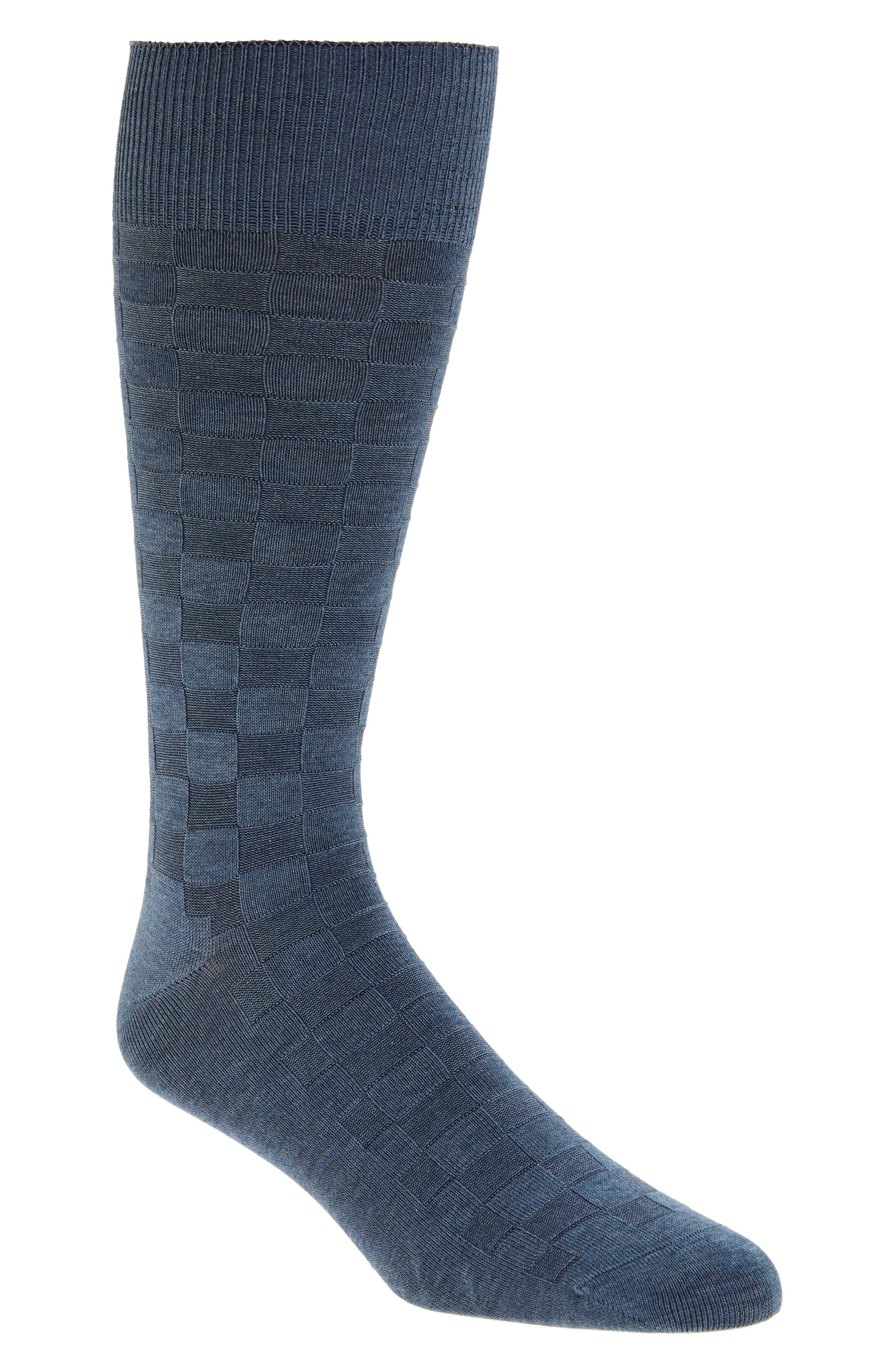 Main Image - Calibrate Grid Socks