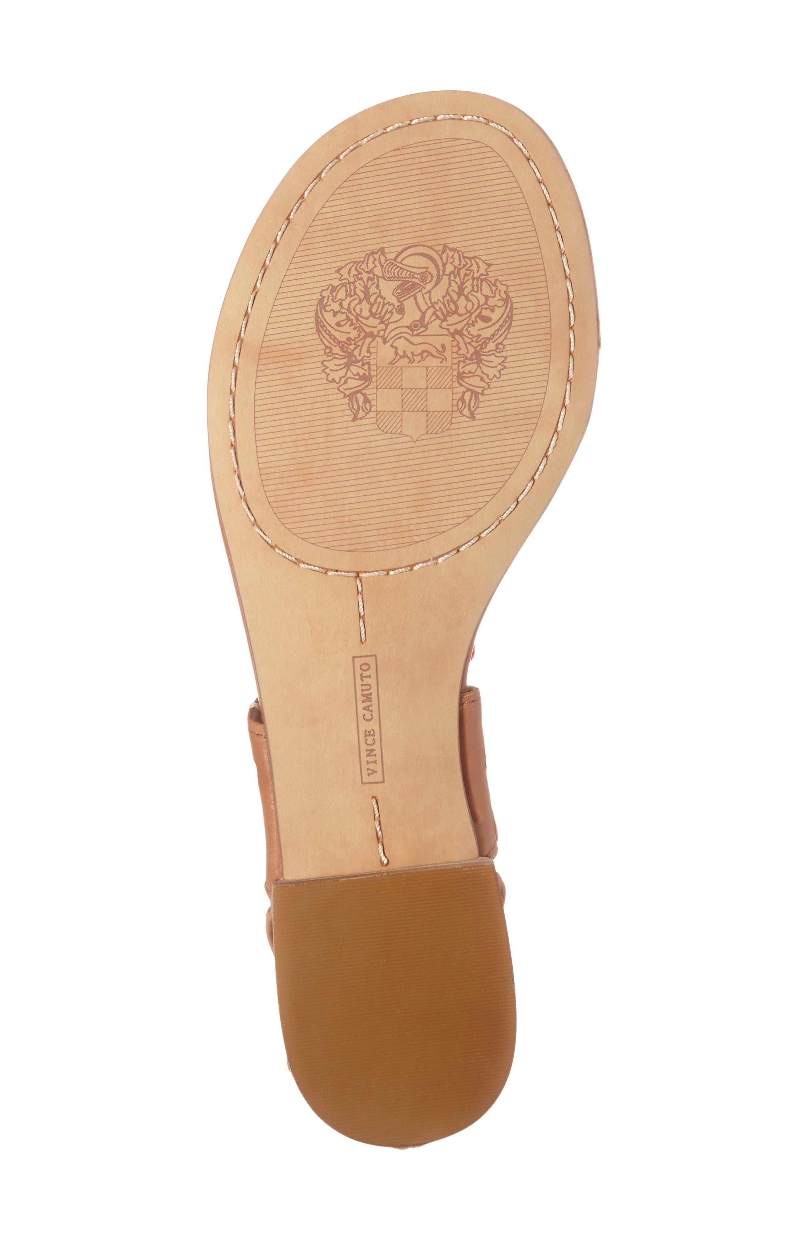 Alternate Image 4  - Vince Camuto Balisa Embellished Lace-Up Sandal (Women)