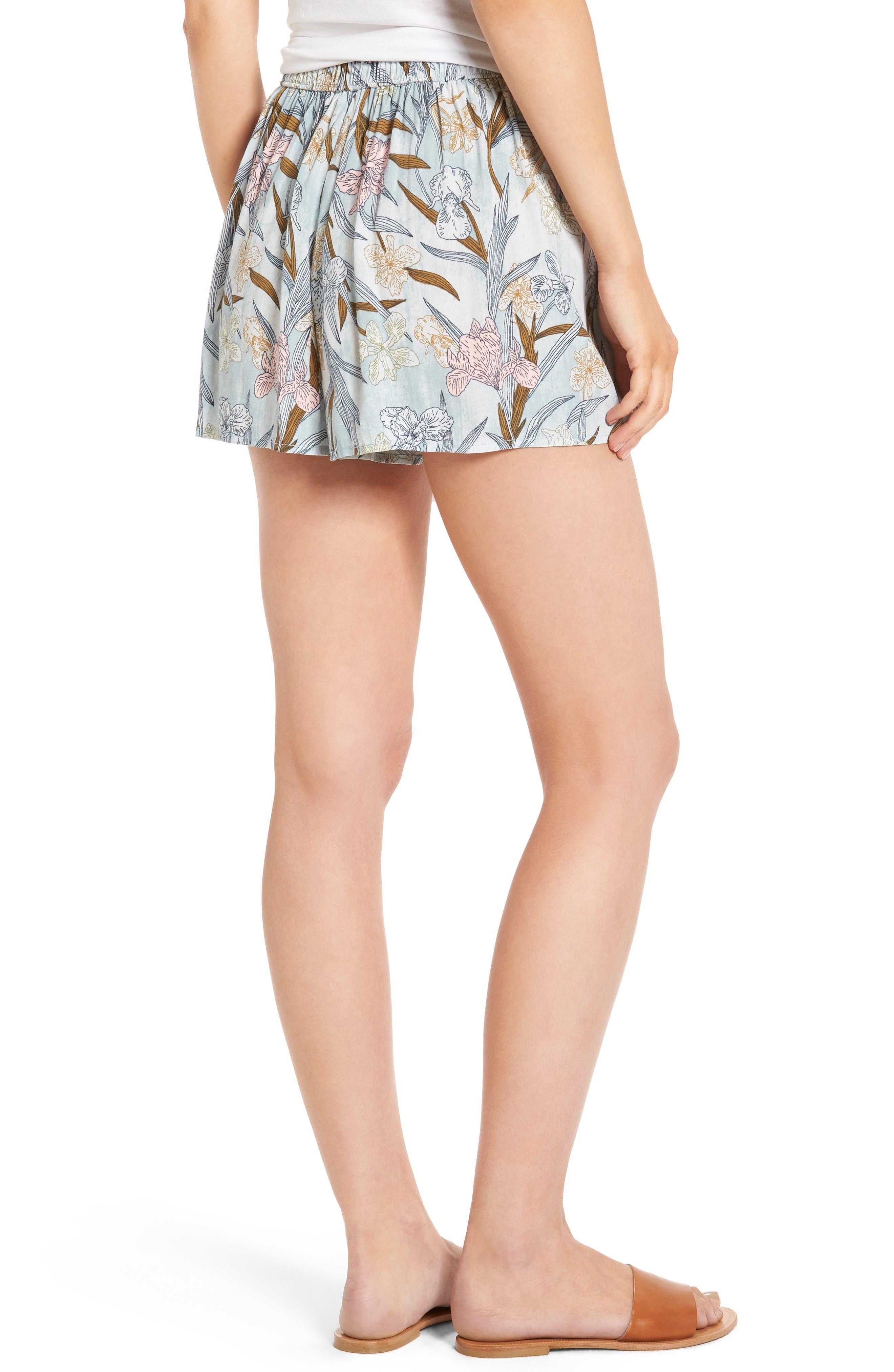 Alternate Image 3  - BP. Tie Front Shorts