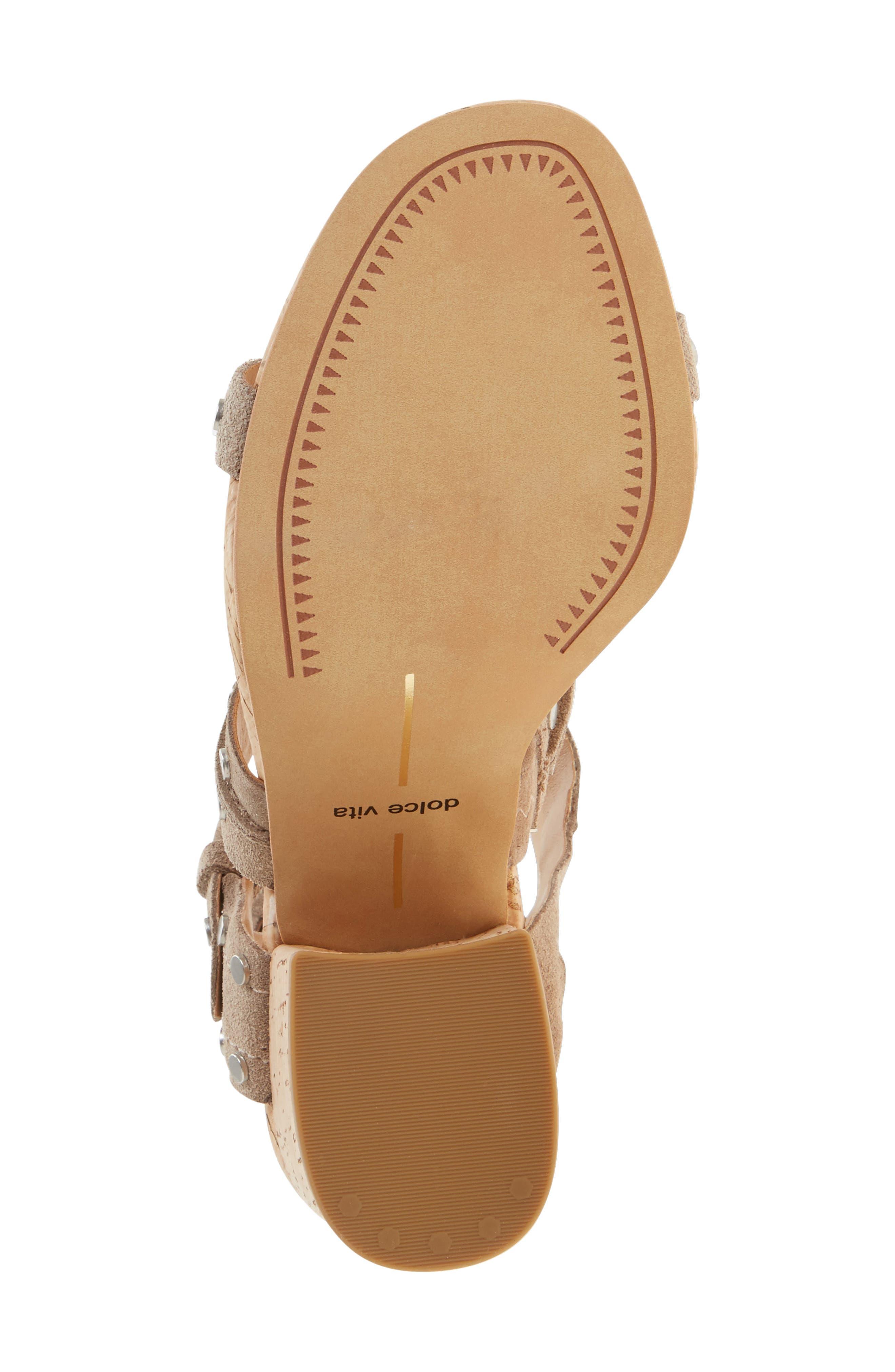 Alternate Image 4  - Dolce Vita Effie Block Heel Sandal (Women)