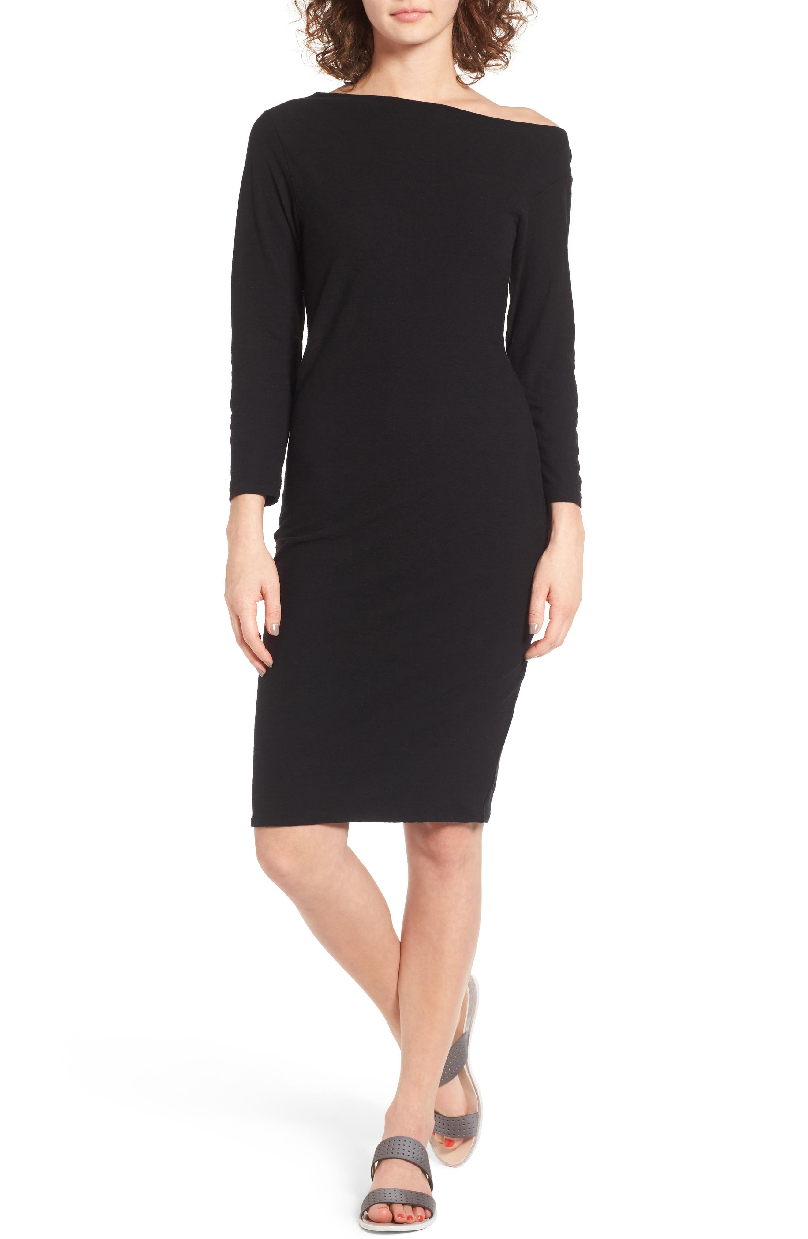 Main Image - James Perse Off the Shoulder Dress