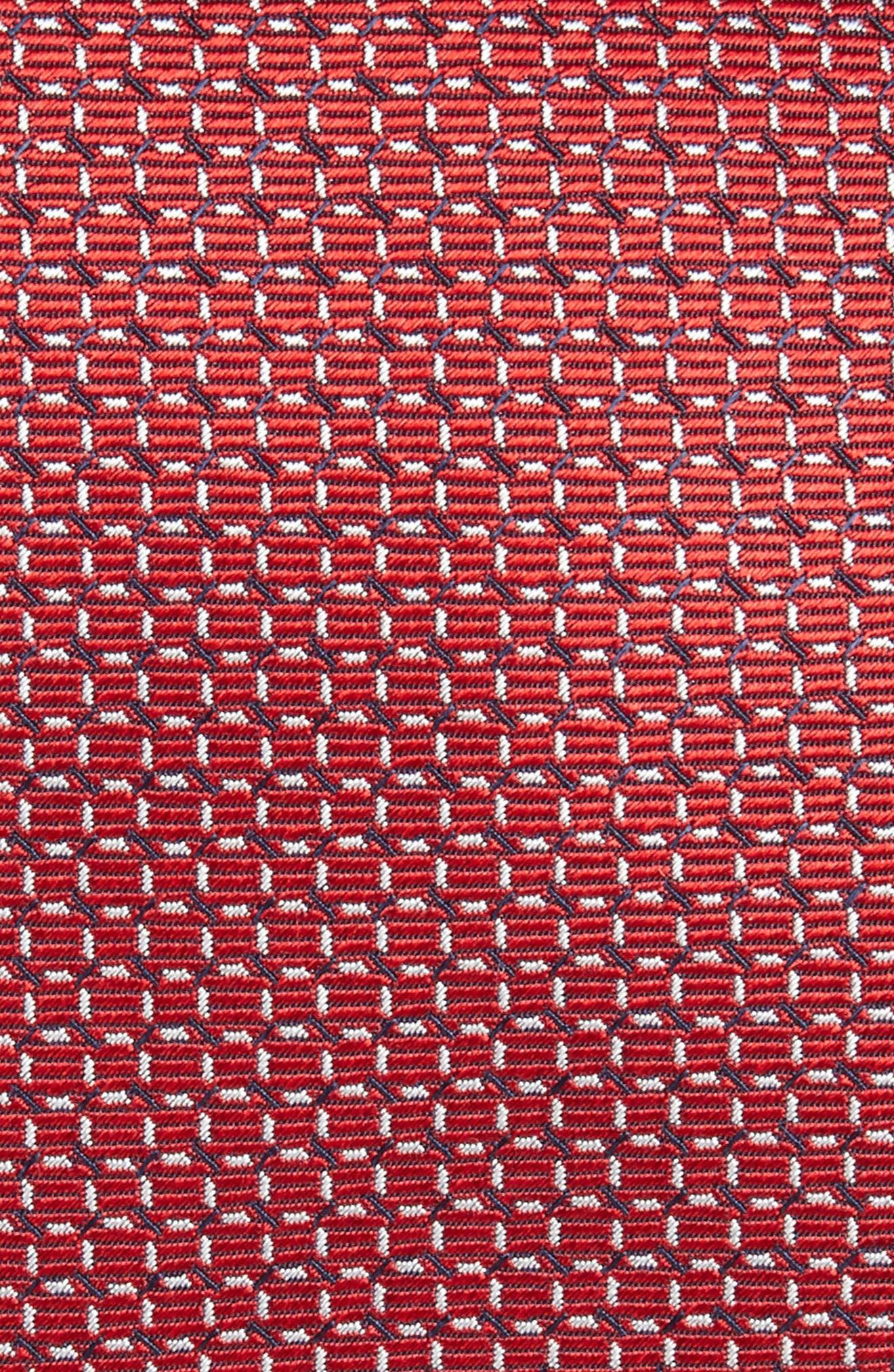 Alternate Image 2  - Brioni Geometric Silk Tie