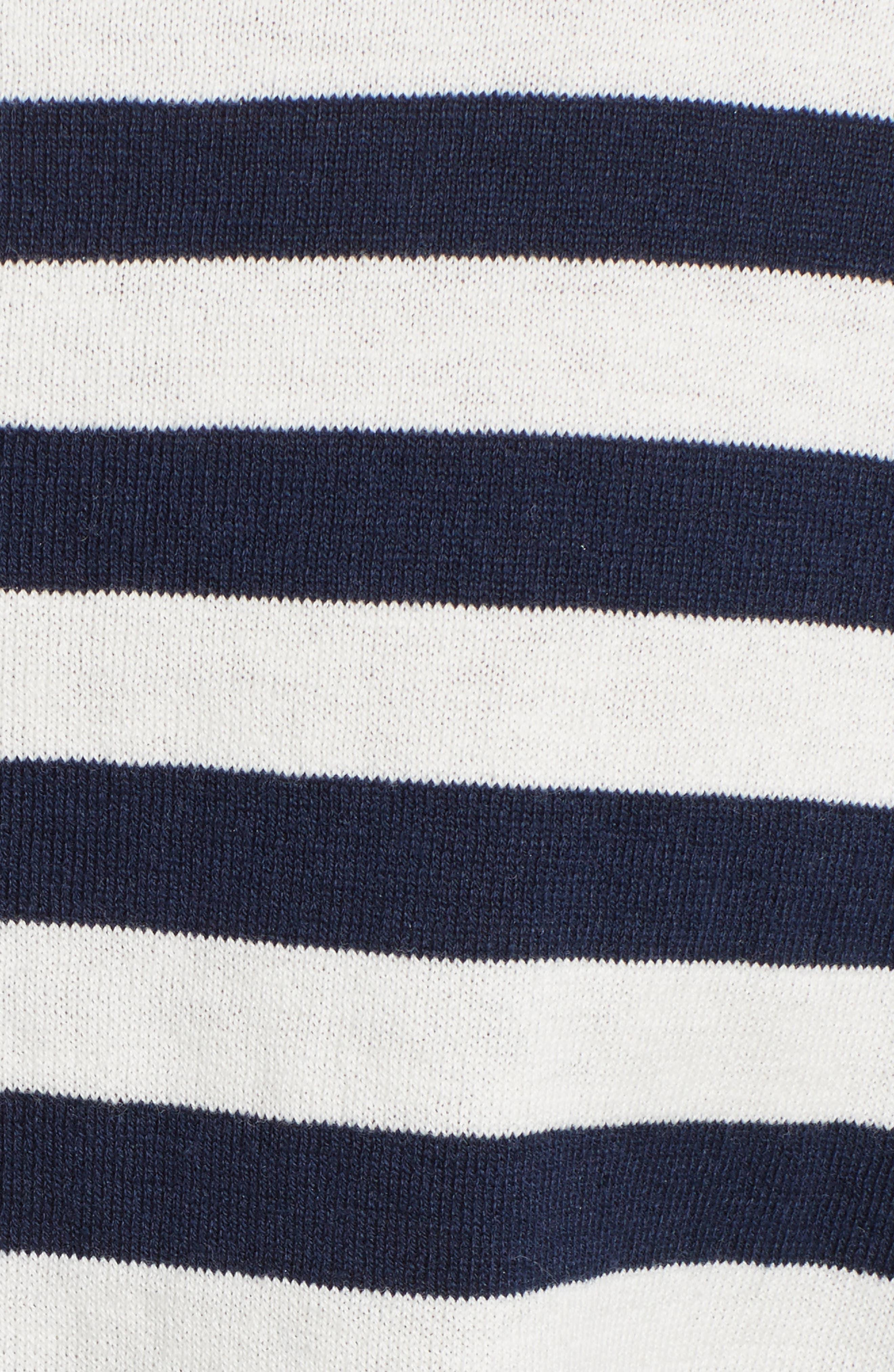 Alternate Image 5  - Equipment Melanie Stripe Cotton & Silk Sweater