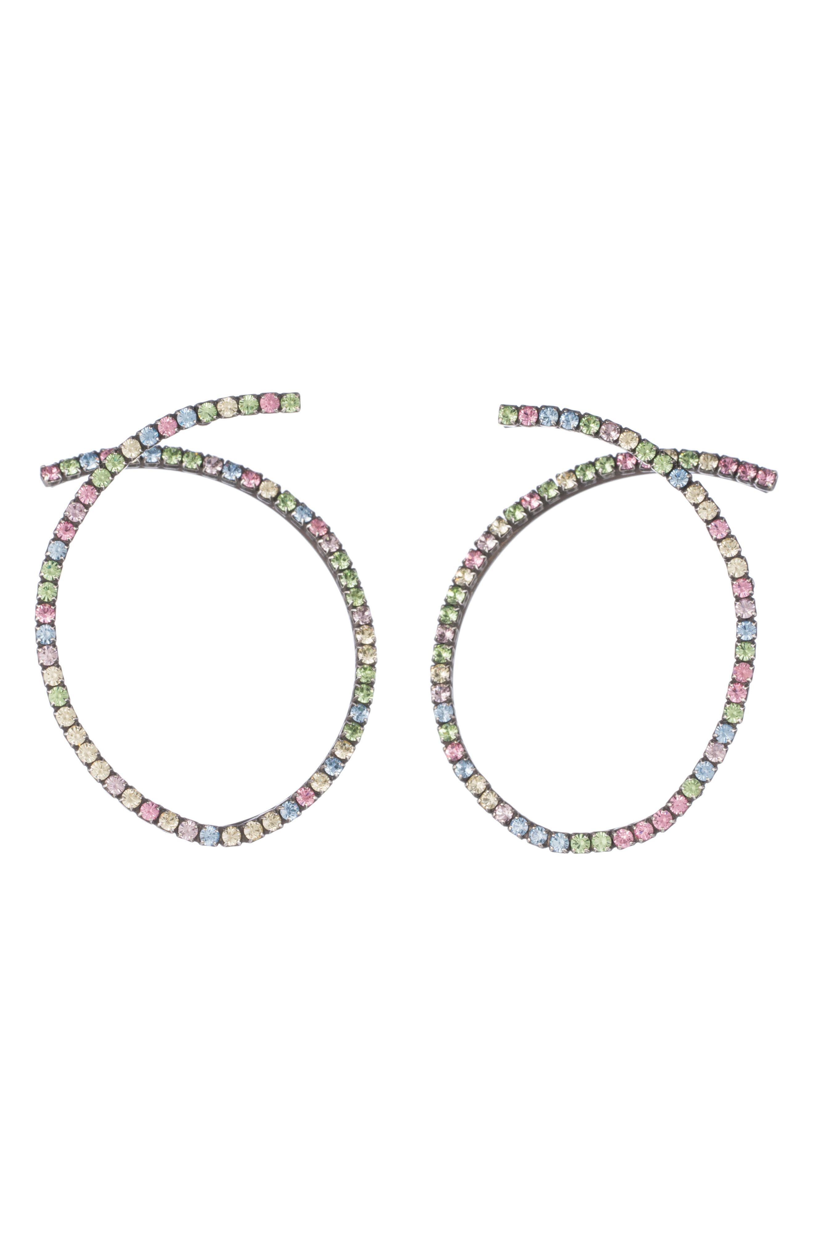 DANNIJO Auburn Swarovski Crystal Earrings
